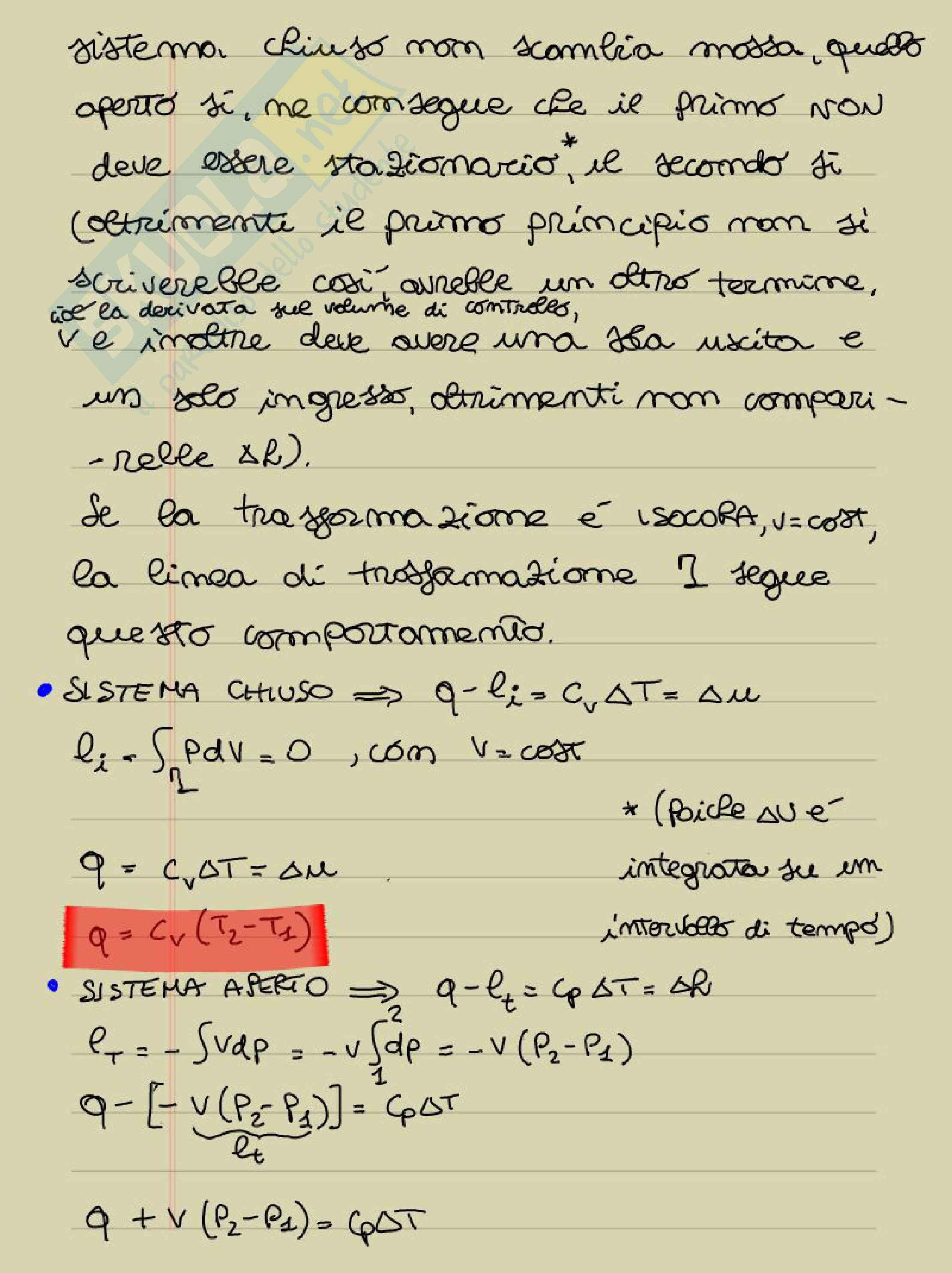 Lezioni: Appunti di Termodinamica applicata Pag. 41