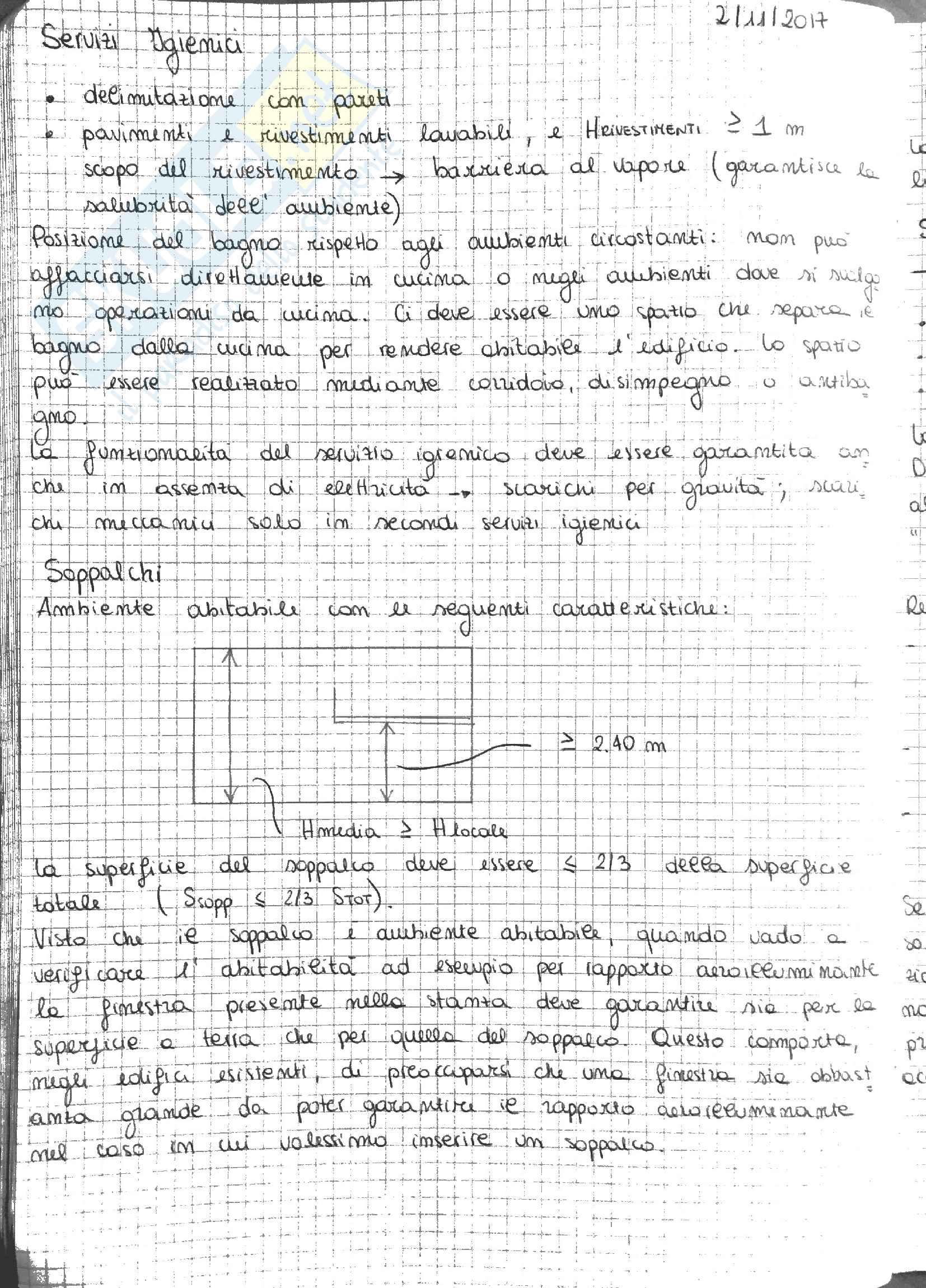 Architettura Tecnica - Appunti Pag. 21
