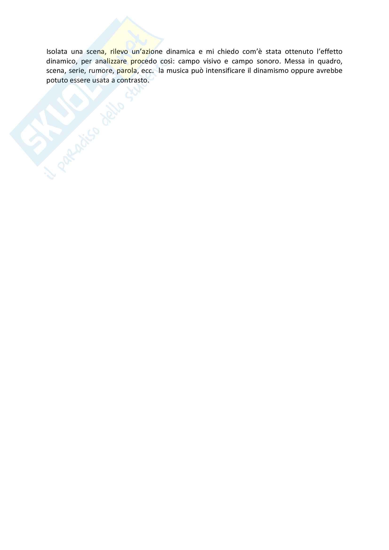 """Riassunto esame Teorie e tecnica del linguaggio audiovisivo, prof. Bandirali, materiale consigliato: slide """"La stilistica della serialità televisiva"""" Pag. 6"""
