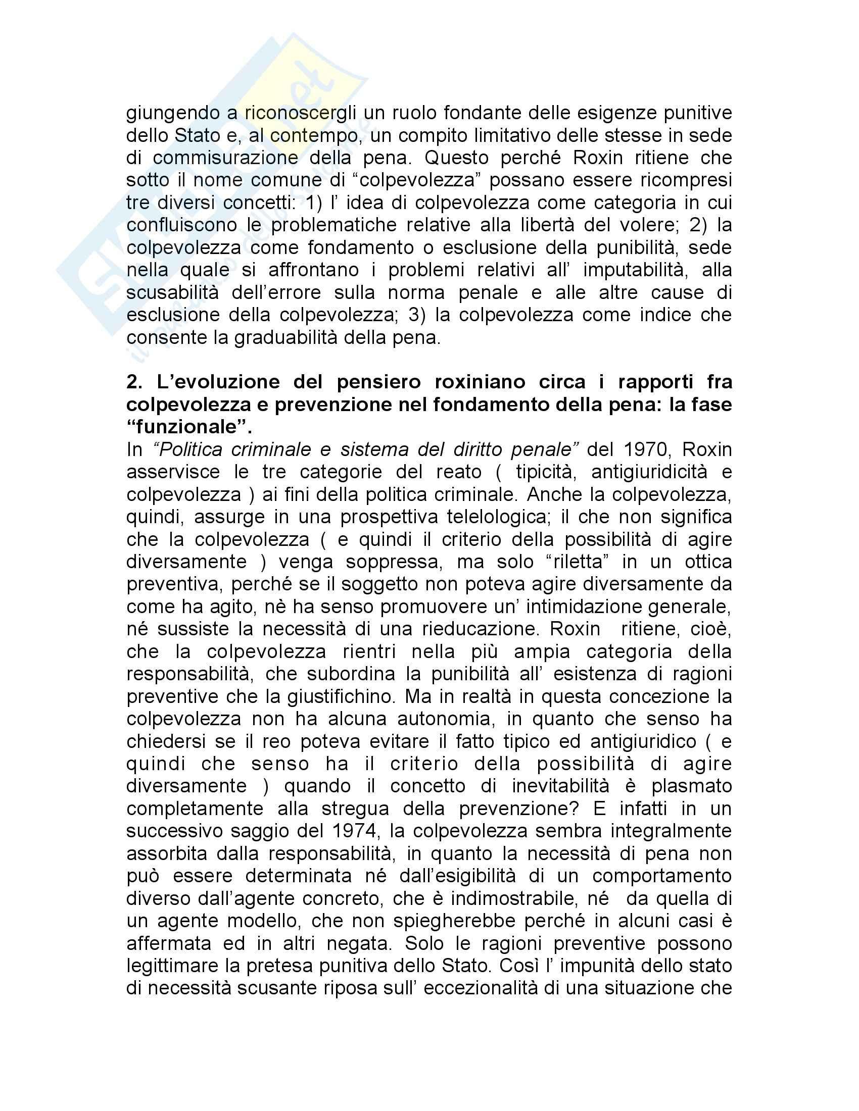 Sociologia della pena - teoria della consapevolezza e scopi della pena Pag. 2