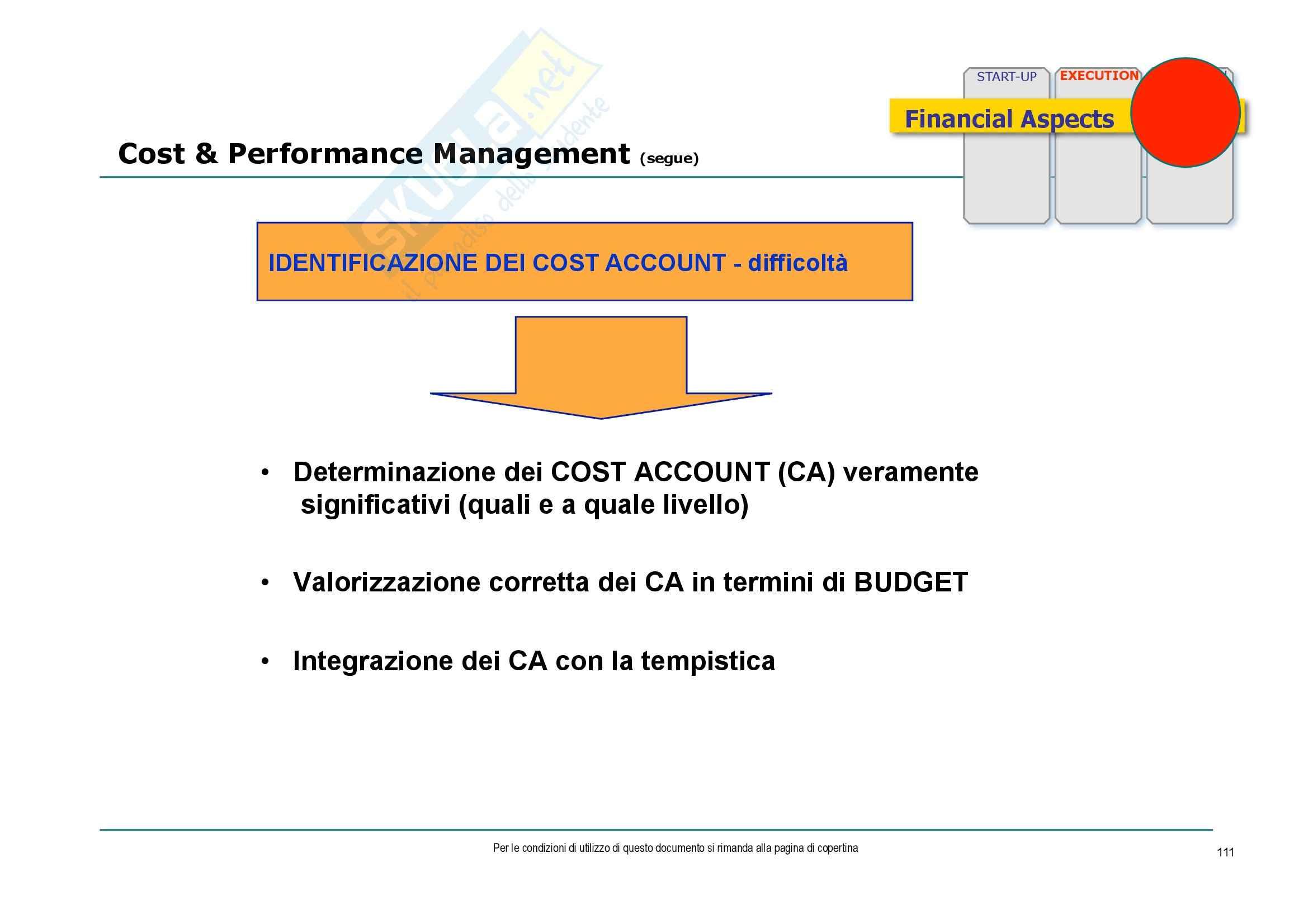 Economia ed organizzazione aziendale - consulenza di direzione e gestione dei progetti Pag. 111