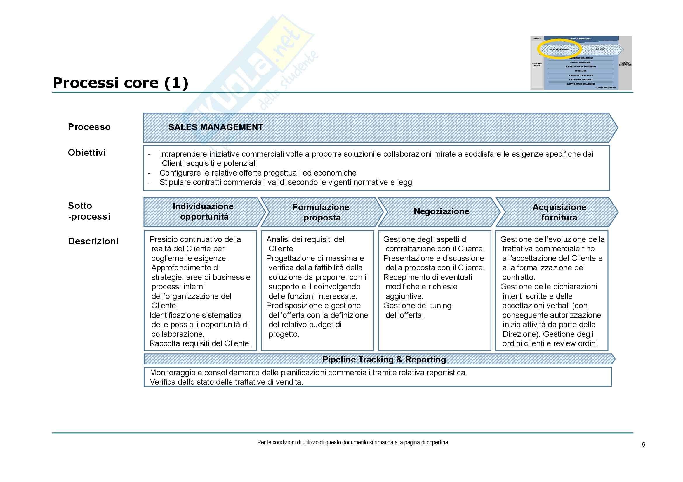 Economia ed organizzazione aziendale - consulenza di direzione e gestione dei progetti Pag. 6