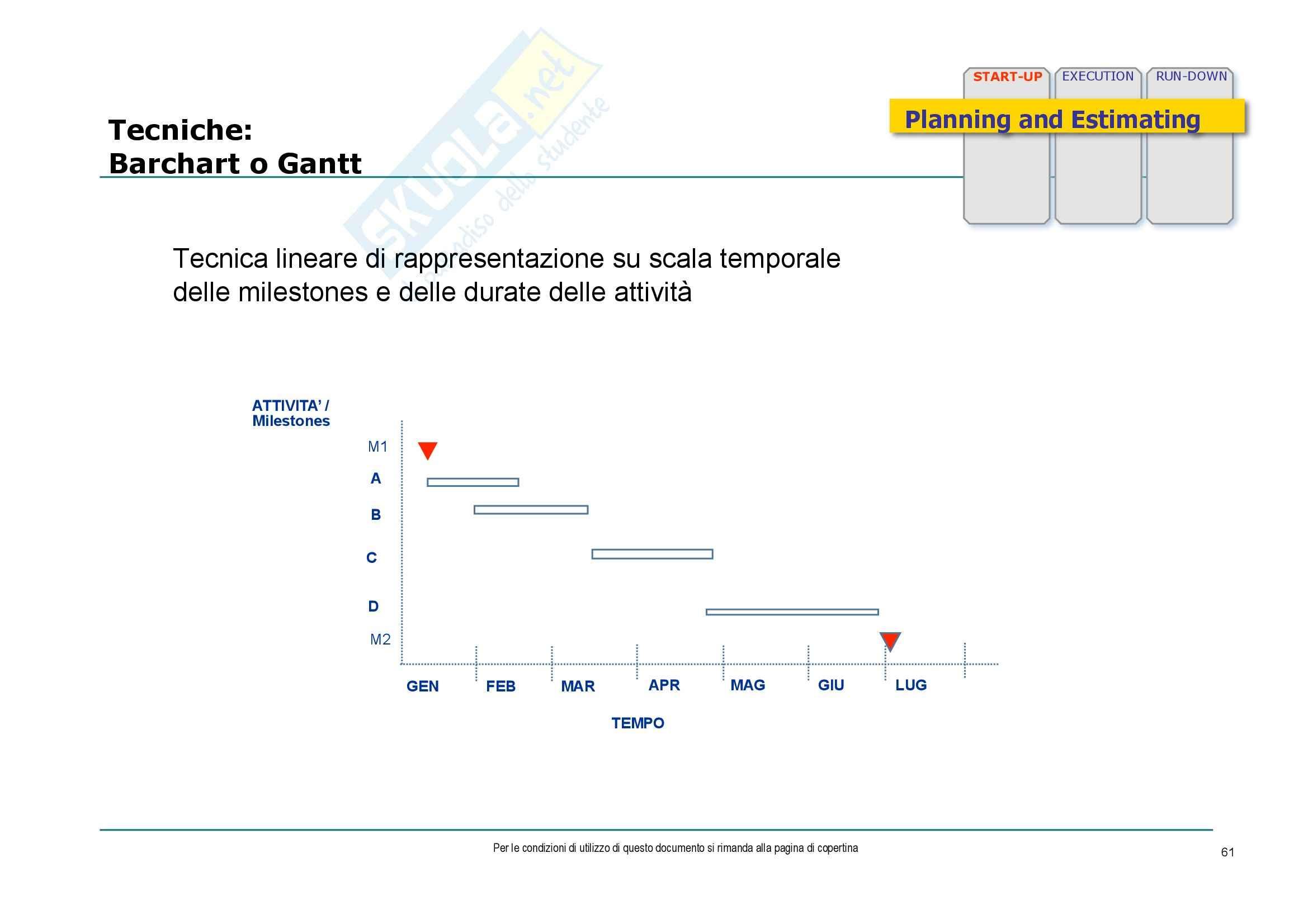 Economia ed organizzazione aziendale - consulenza di direzione e gestione dei progetti Pag. 61