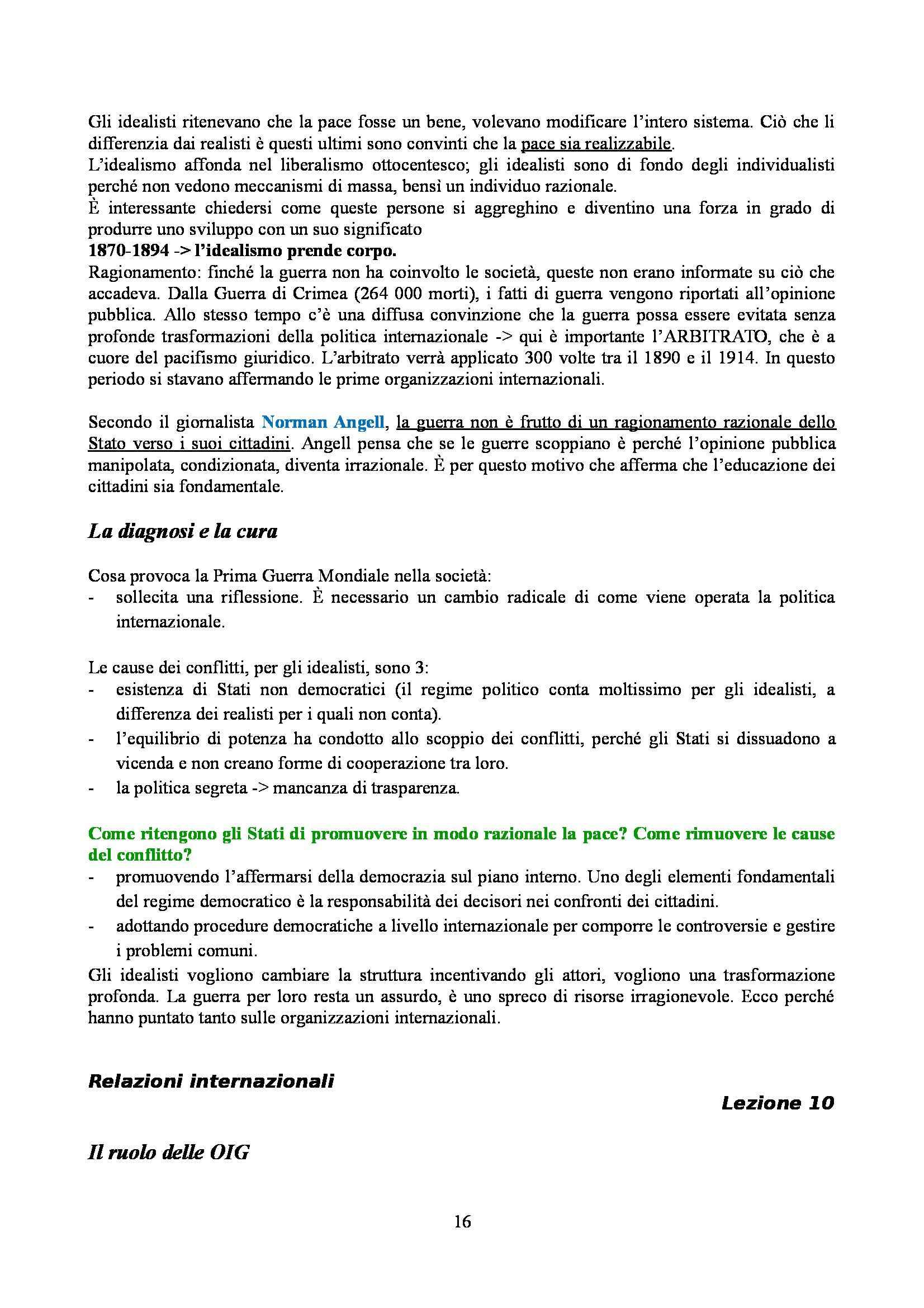 Relazioni internazionali - Appunti Pag. 16