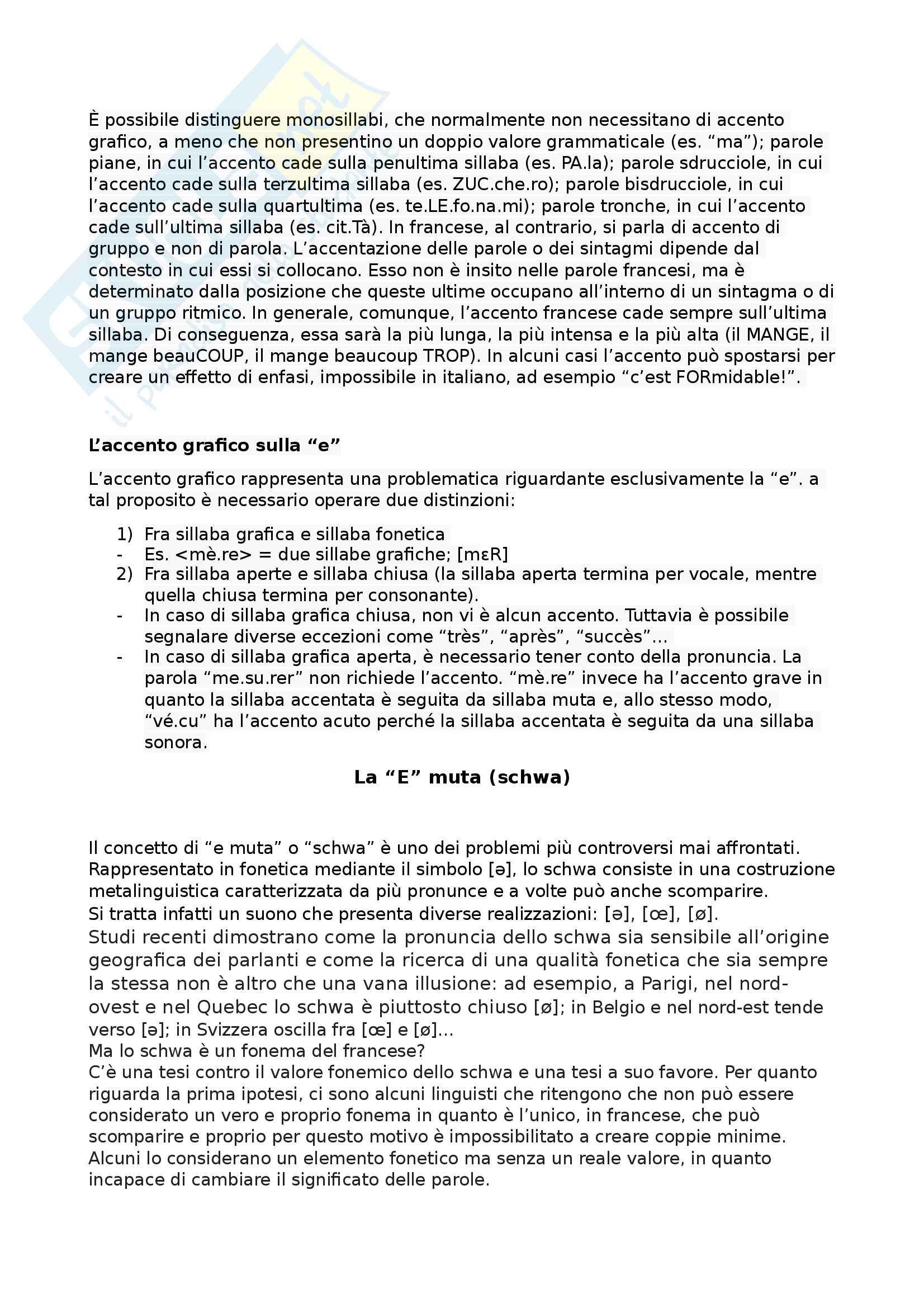 Lingua francese I parte A e B Pag. 6
