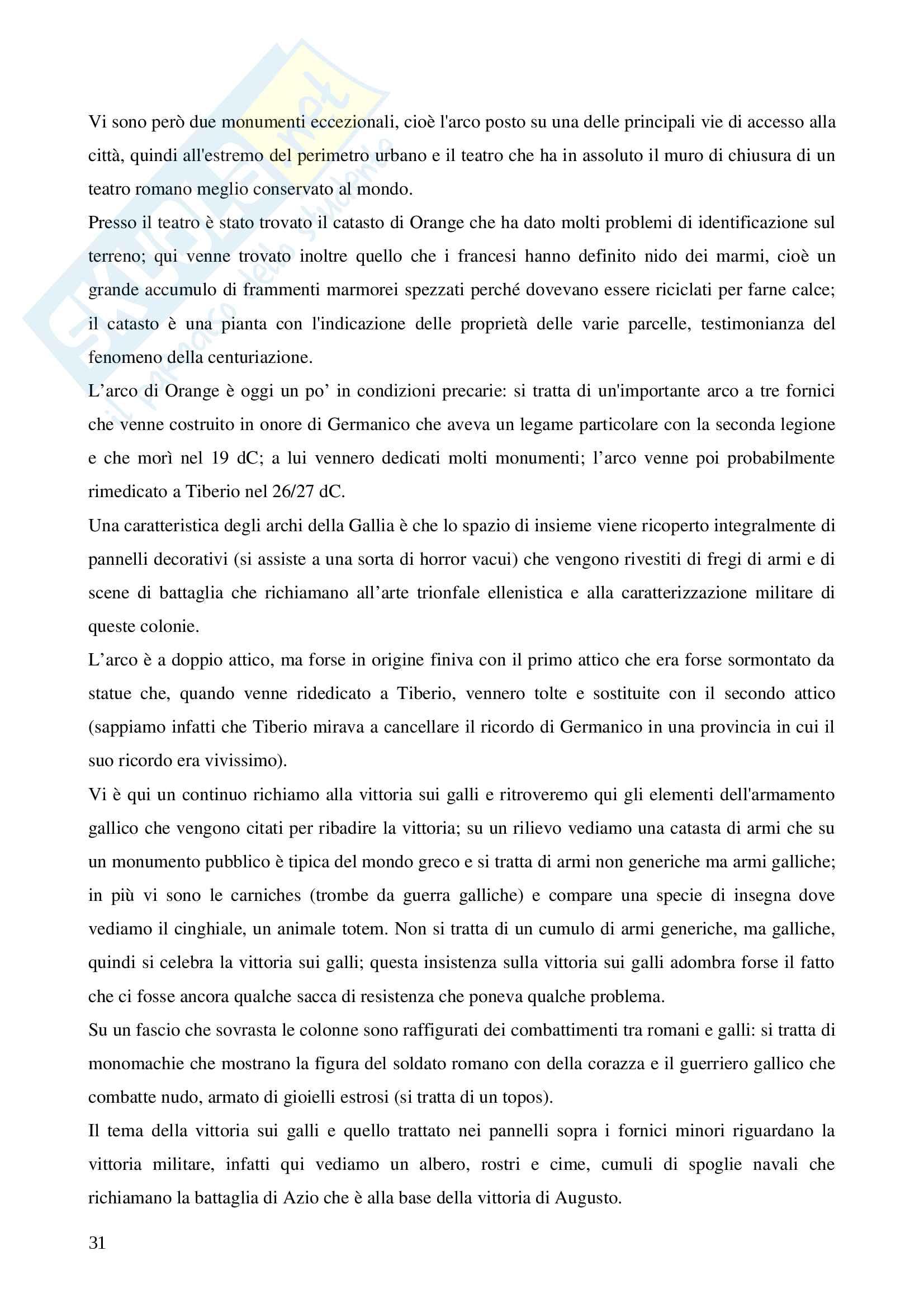 Archeologia delle province romane Pag. 31