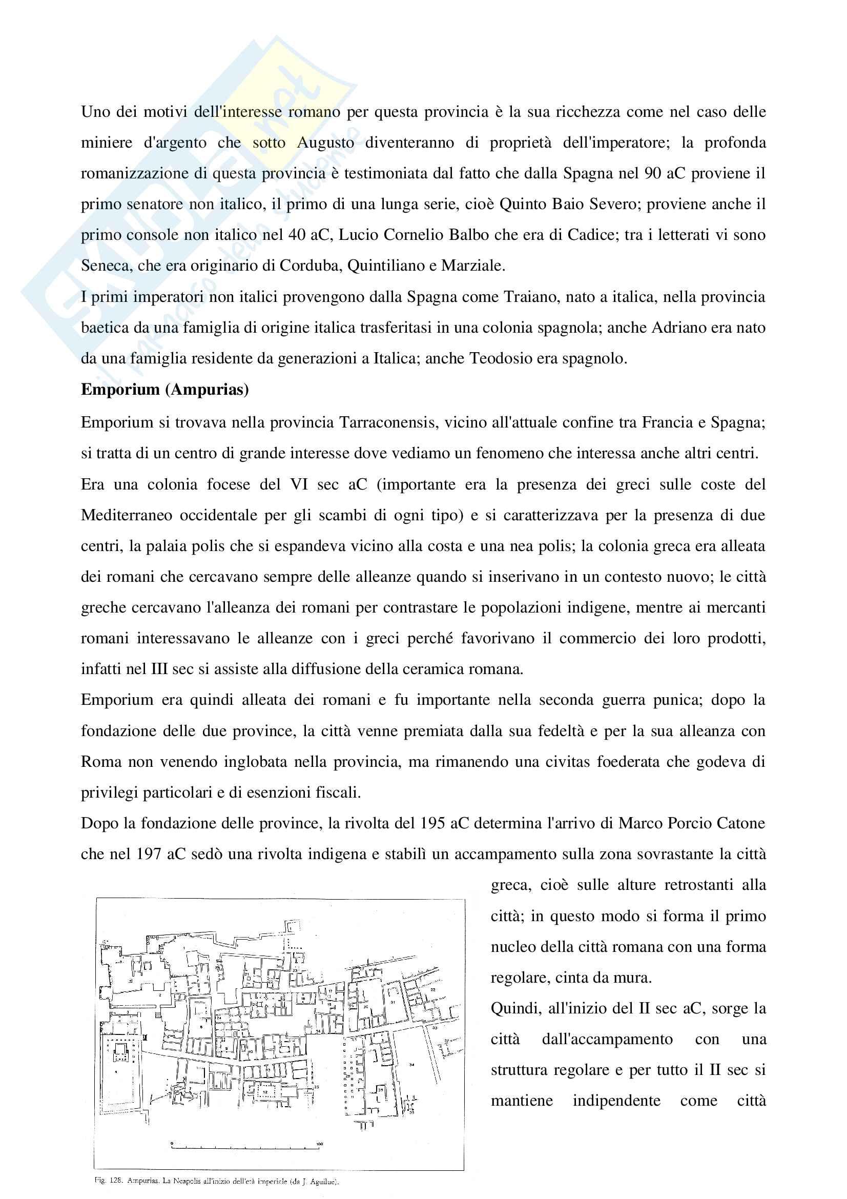 Archeologia delle province romane Pag. 6