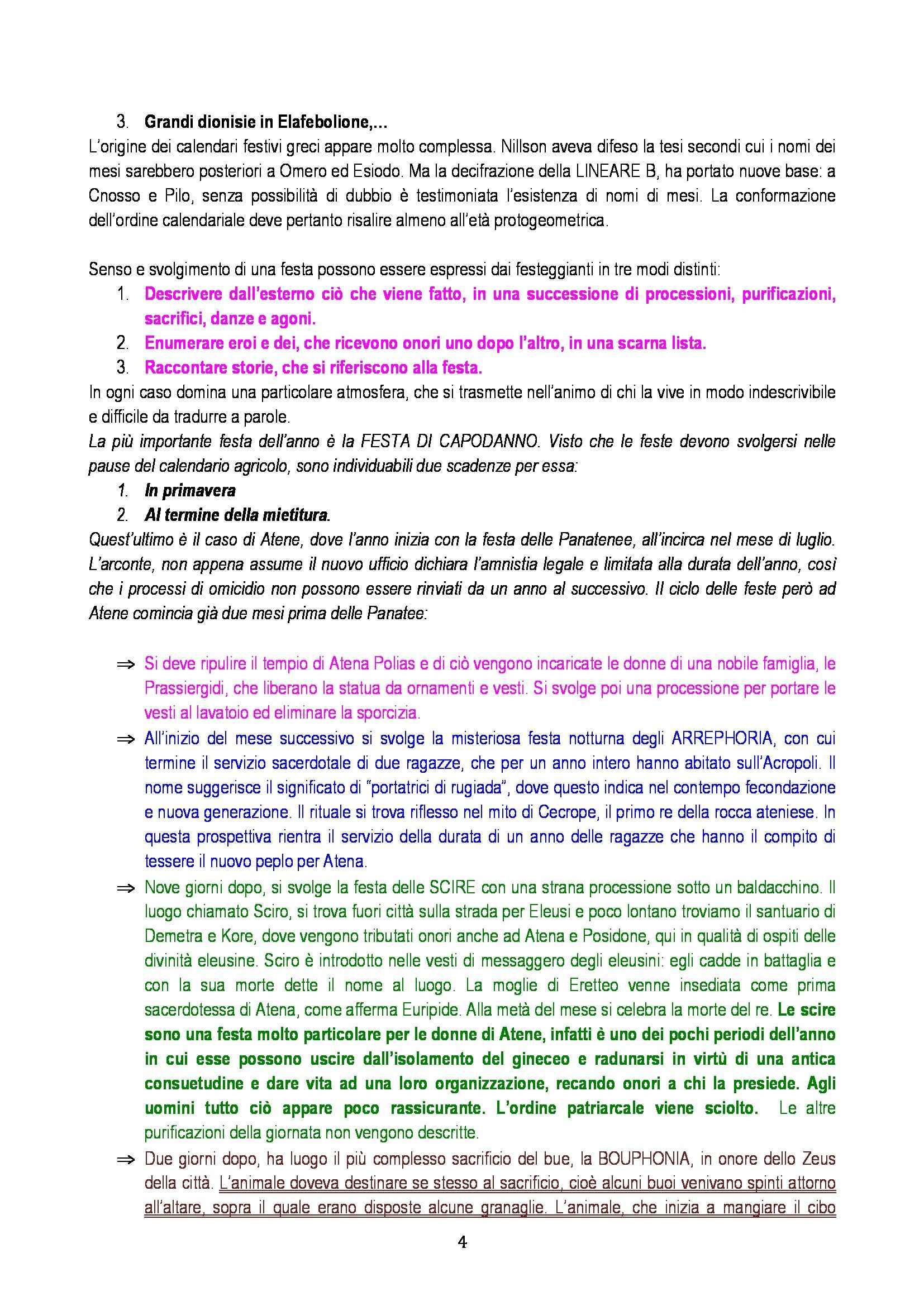 Riassunto esame Storia della Religione Greca, prof. Camassa, libro consigliato La Religione Greca, Burke Pag. 36