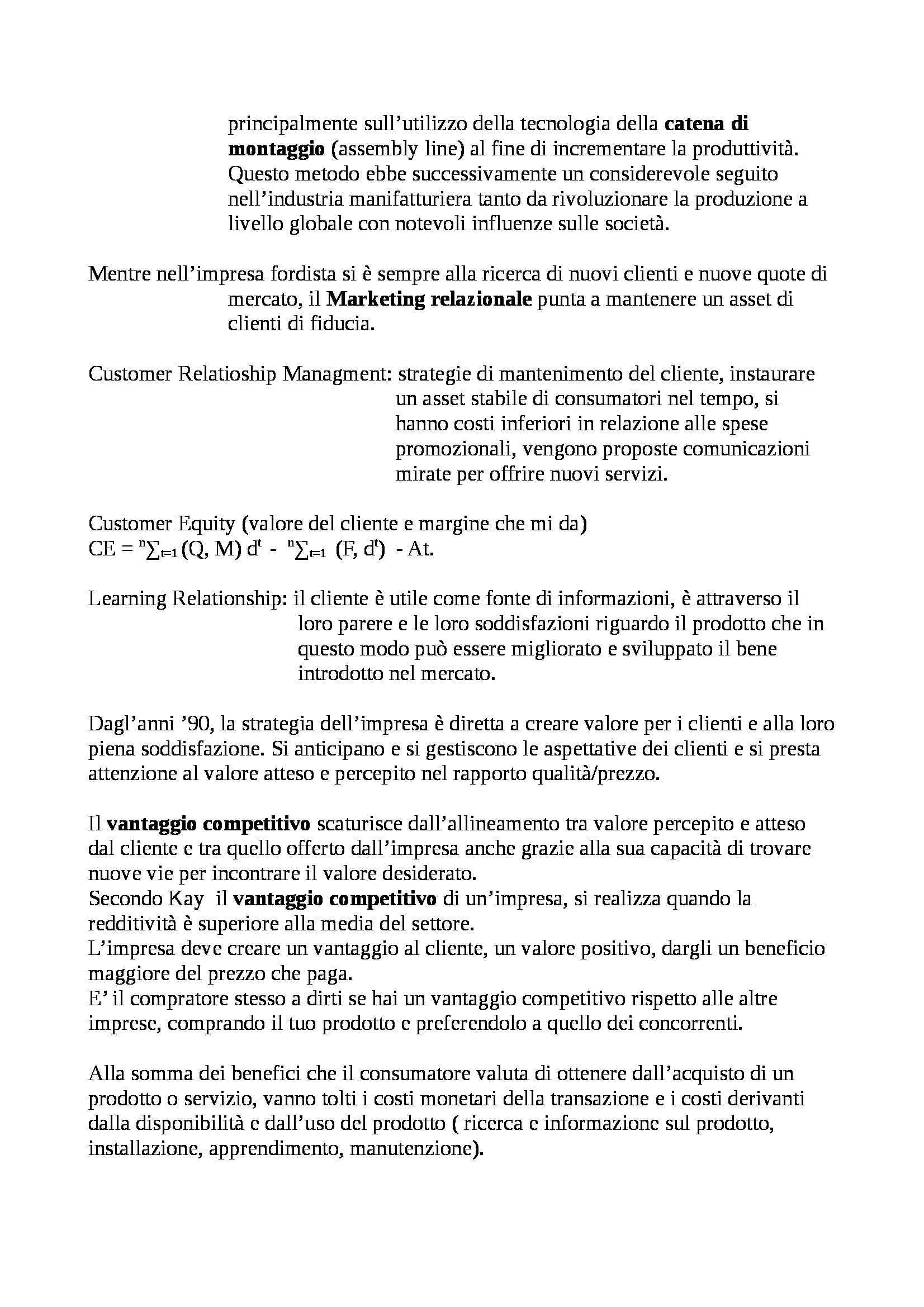 Economia e gestione delle imprese - Appunti Pag. 2