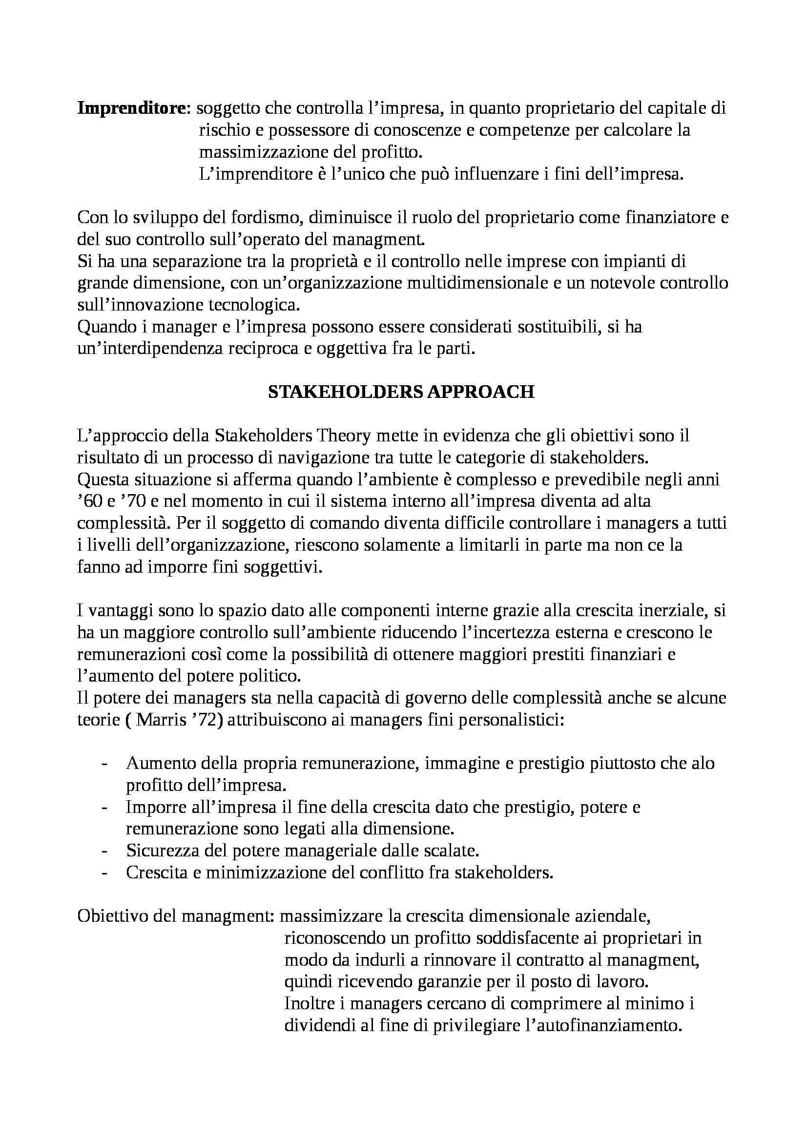 Economia e gestione delle imprese - Appunti Pag. 6