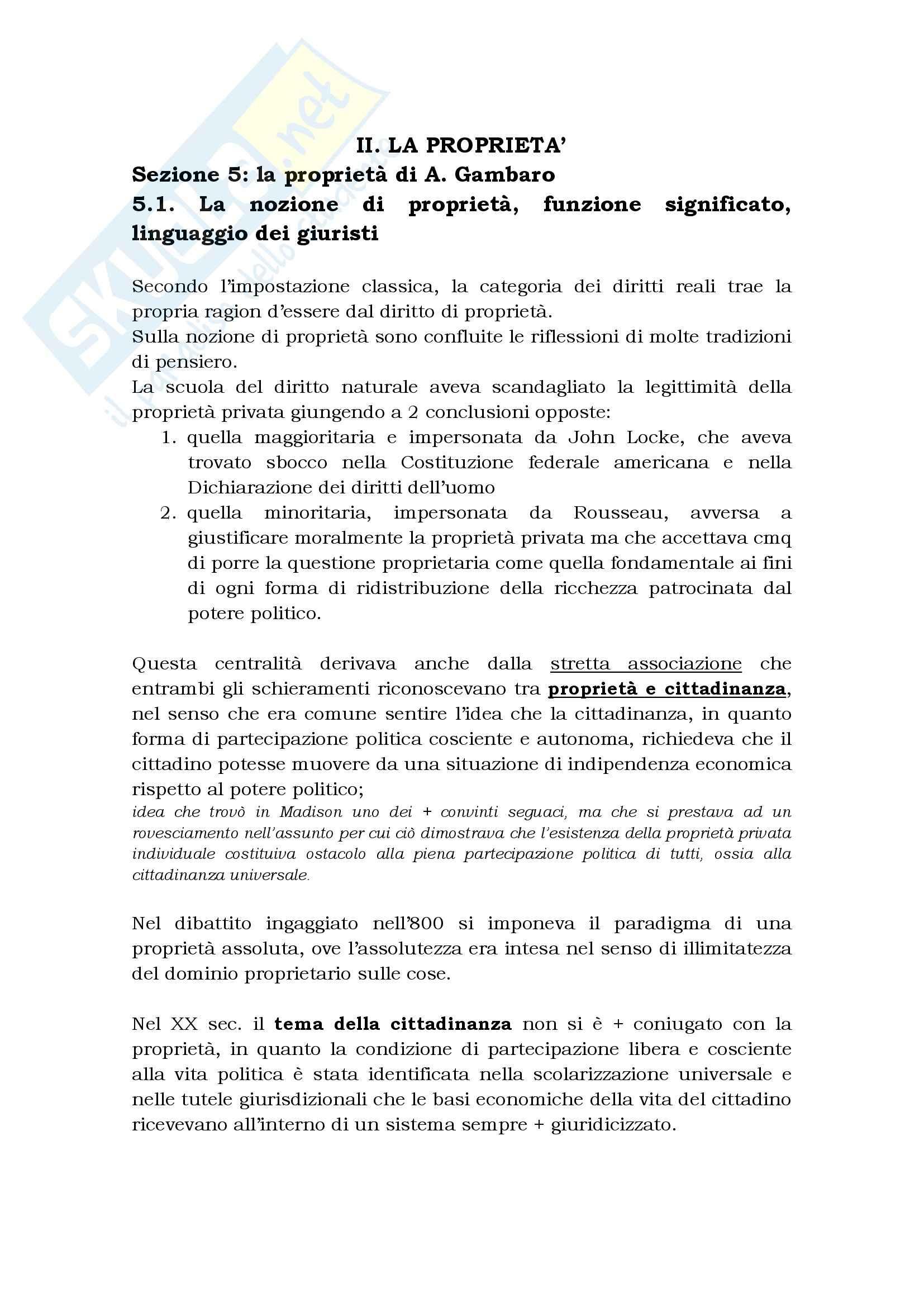 appunto M. Marella Diritto civile
