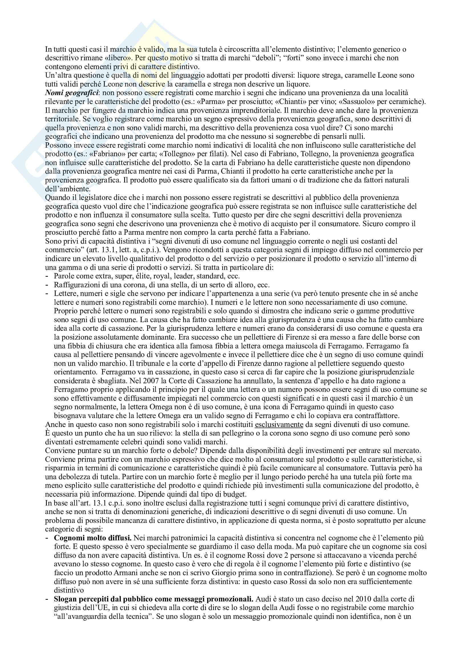Diritto industriale Pag. 36