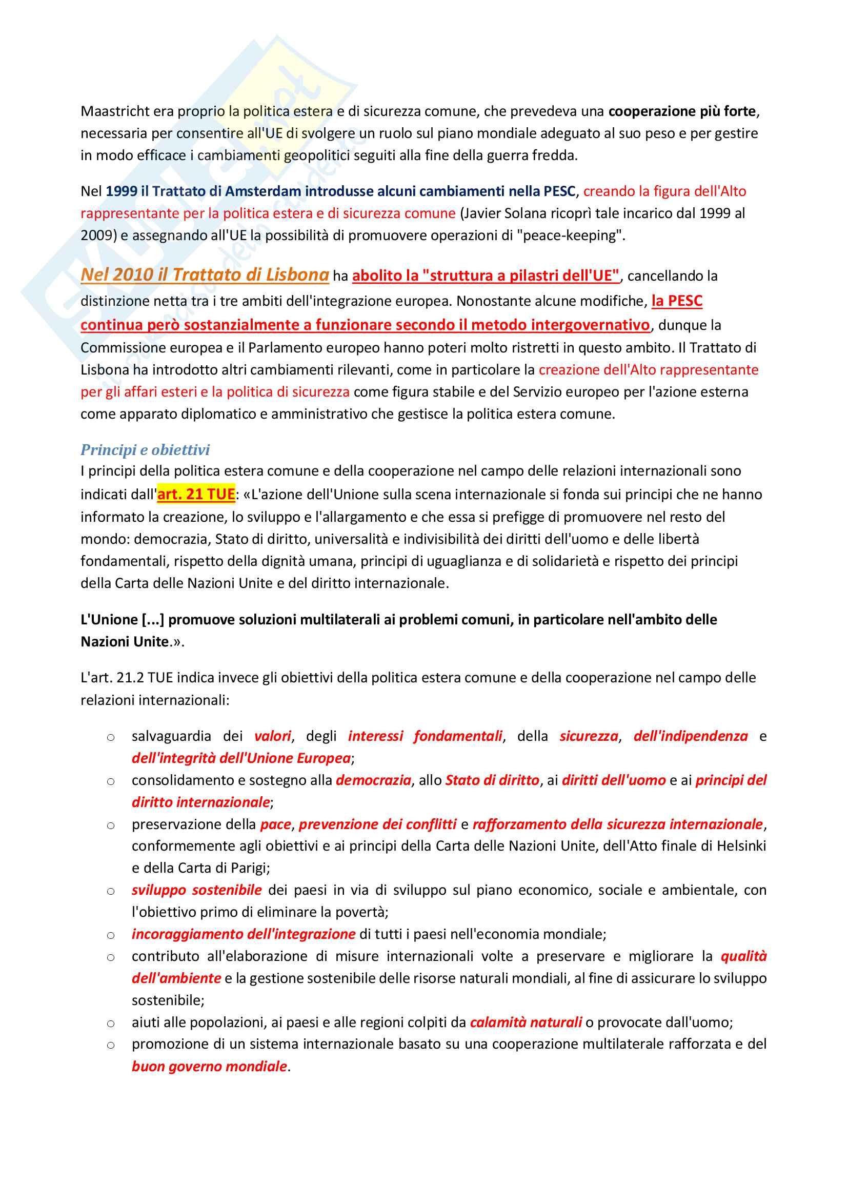 Riassunto esame di Diritto costituzionale 2 II, prof. P. Costanzo e L. Trucco, libro consigliato Lineamenti di diritto costituzionale dell'Unione Europea, P. Costanzo Pag. 31