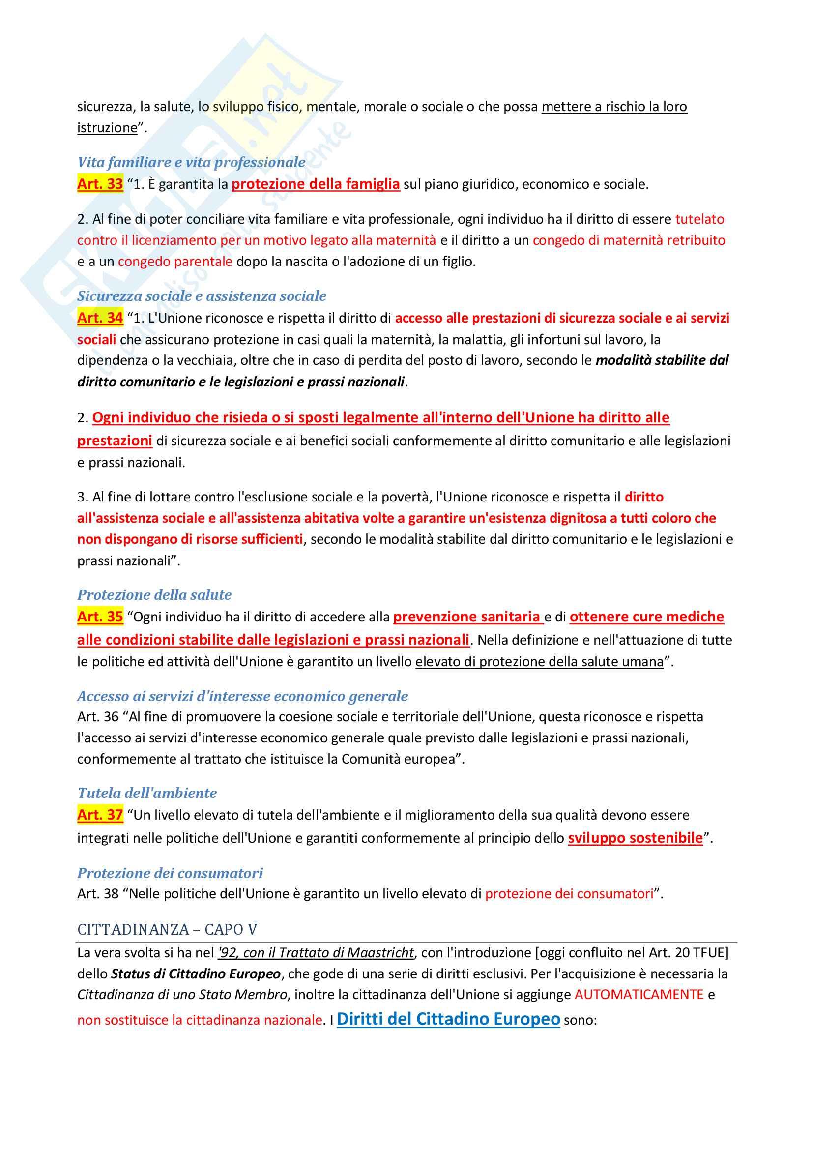 Riassunto esame di Diritto costituzionale 2 II, prof. P. Costanzo e L. Trucco, libro consigliato Lineamenti di diritto costituzionale dell'Unione Europea, P. Costanzo Pag. 71