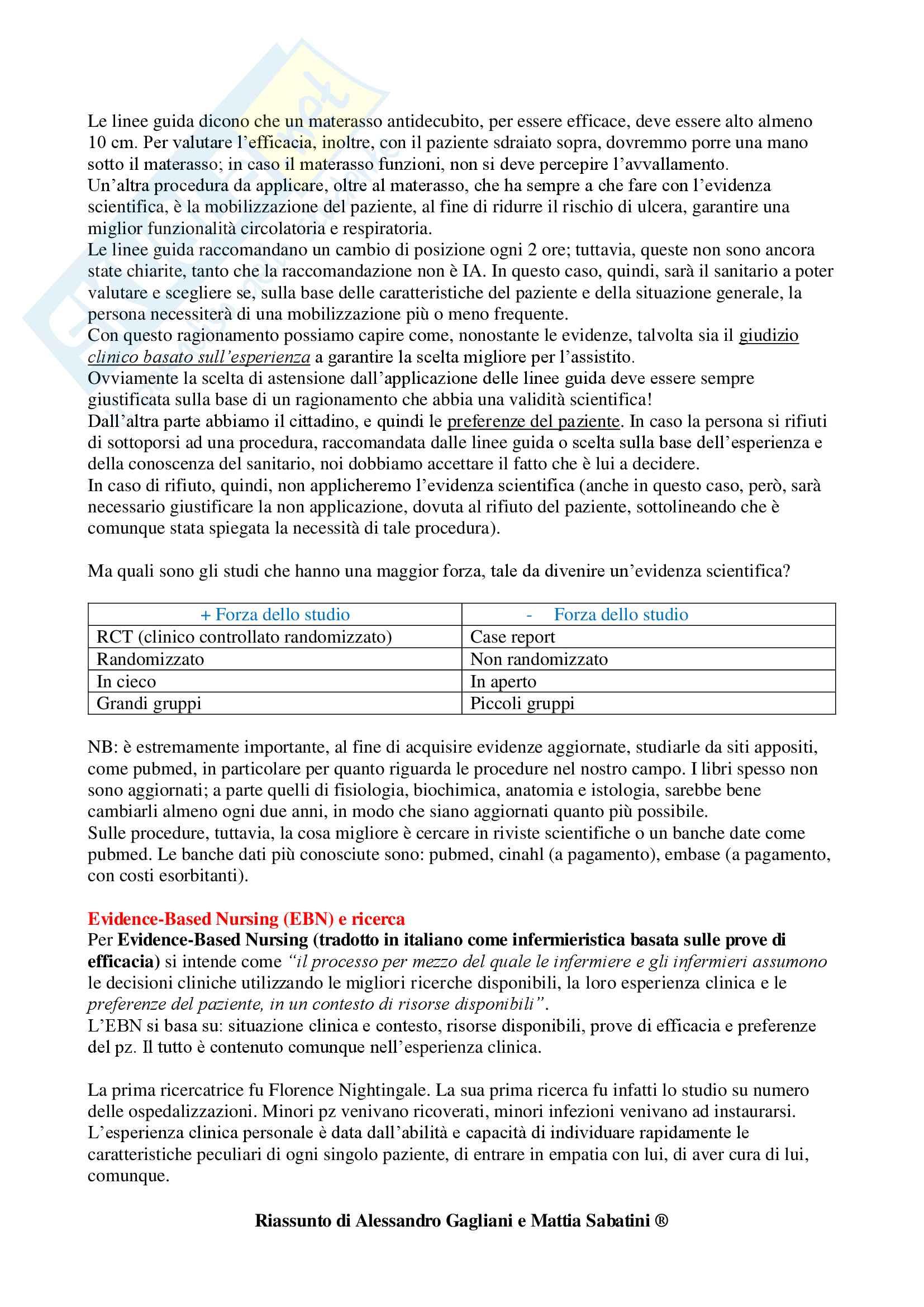Metodologia della Ricerca Infermieristica - Appunti Completi Pag. 11