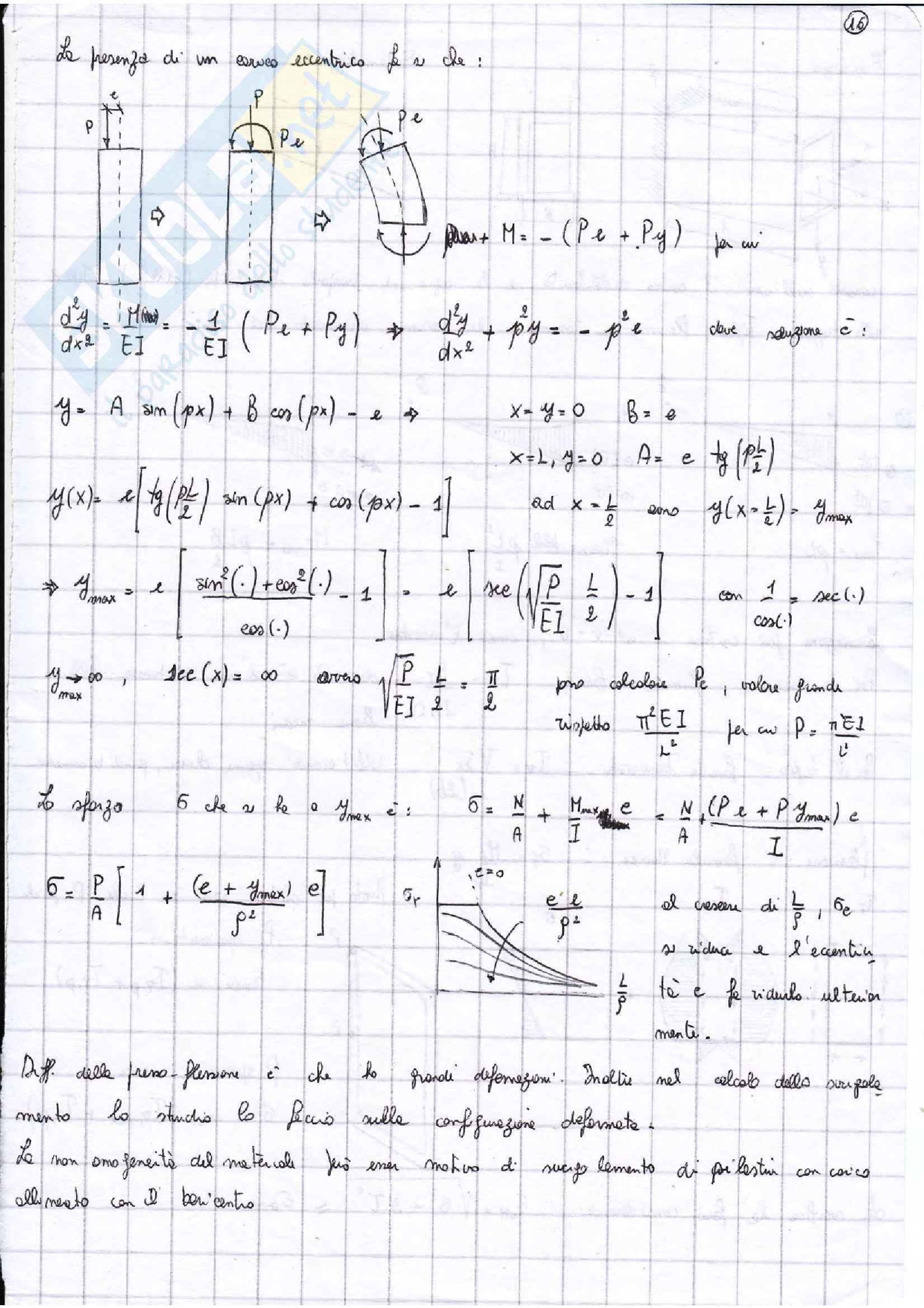 Riassunto esame parte 1 costruzioni di macchine, prof. Citarella, libro consigliato Meccanica dei solidi, Beer Pag. 31