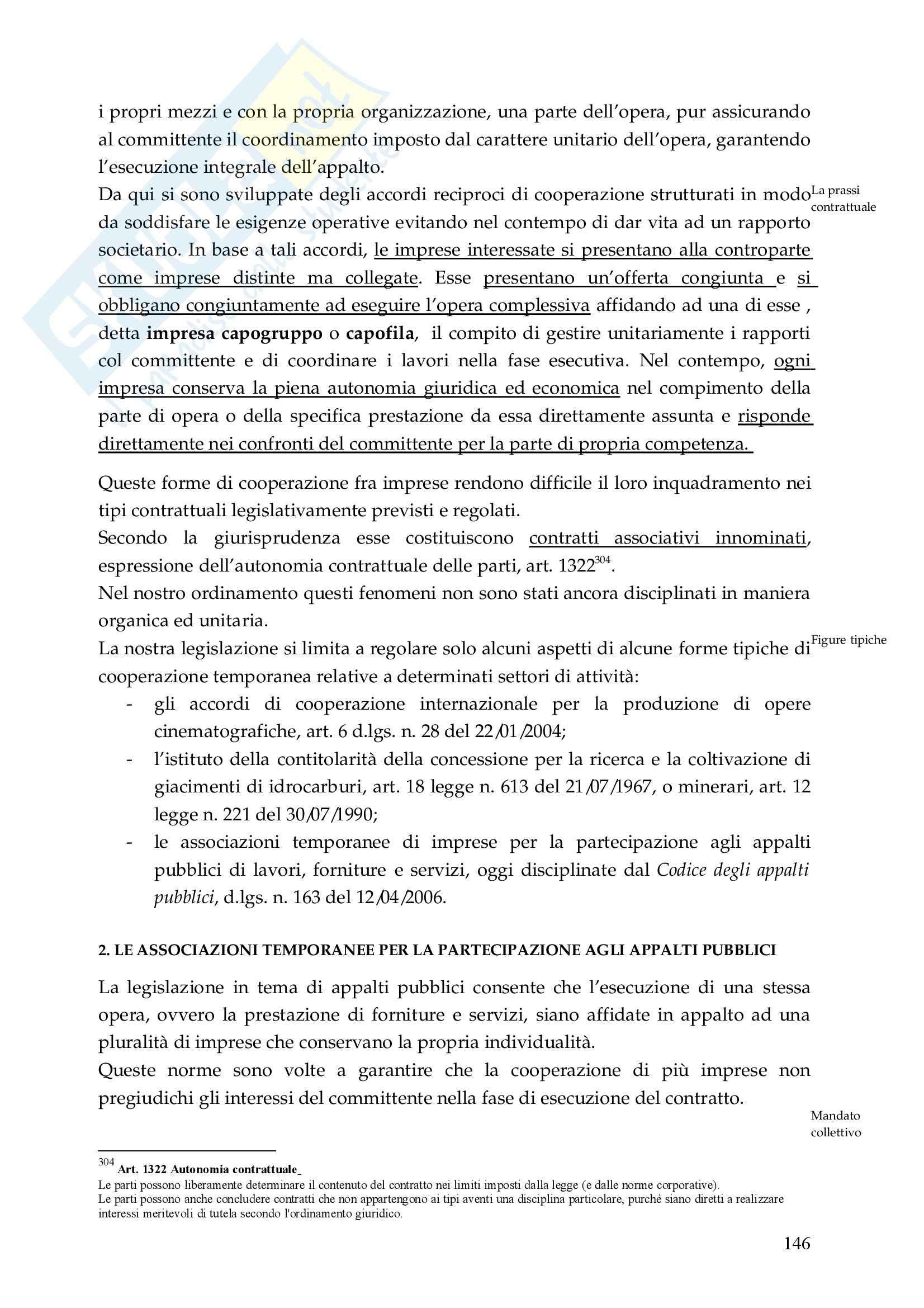 Riassunto esame Diritto Commerciale, prof. De Mari, libro consigliato Diritto Commerciale, Campobasso Pag. 146