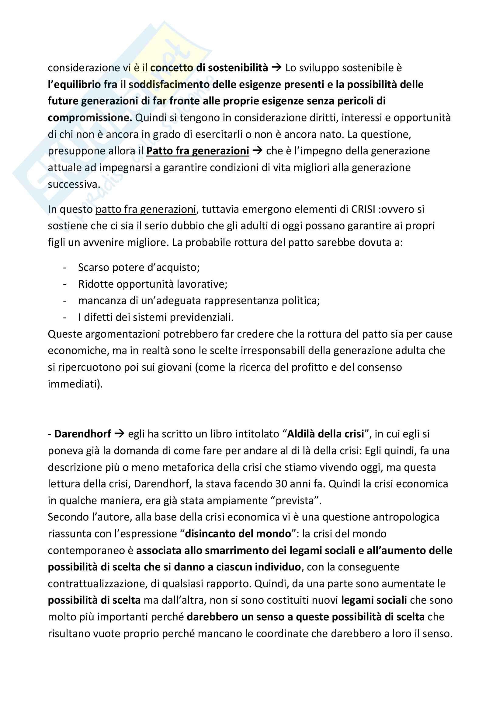 """Riassunto esame Pedagogia degli adulti, Prof. Cornacchia, Libro consigliato """"Le responsabilità smarrite"""", Cornacchia e Madriz Pag. 11"""