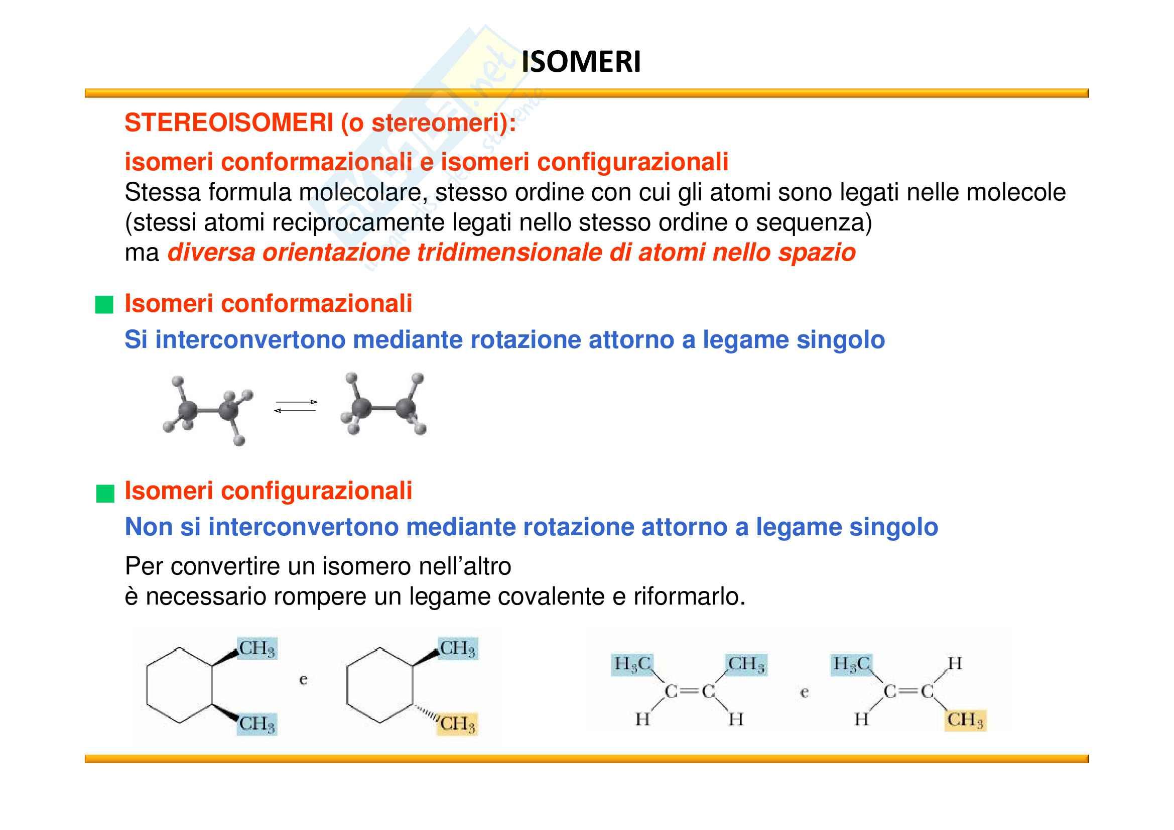 Chimica Organica: Chiralità