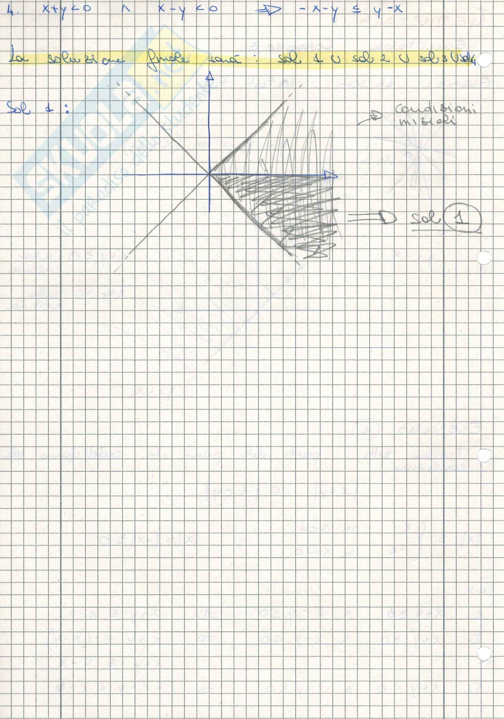 Geometria - Esercitazioni Pag. 2