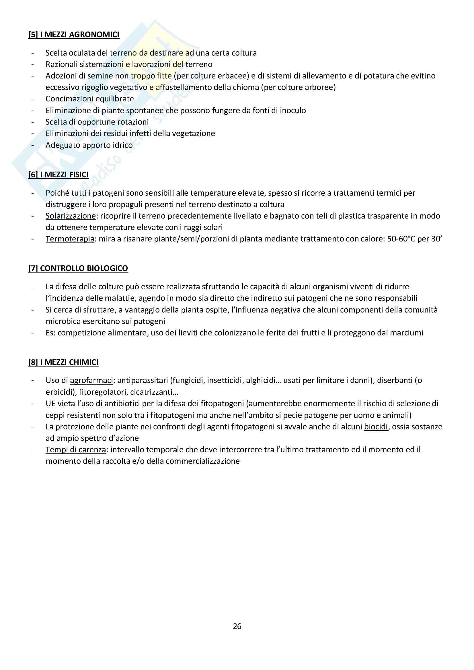 Fisiopatologia Vegetale Pag. 26