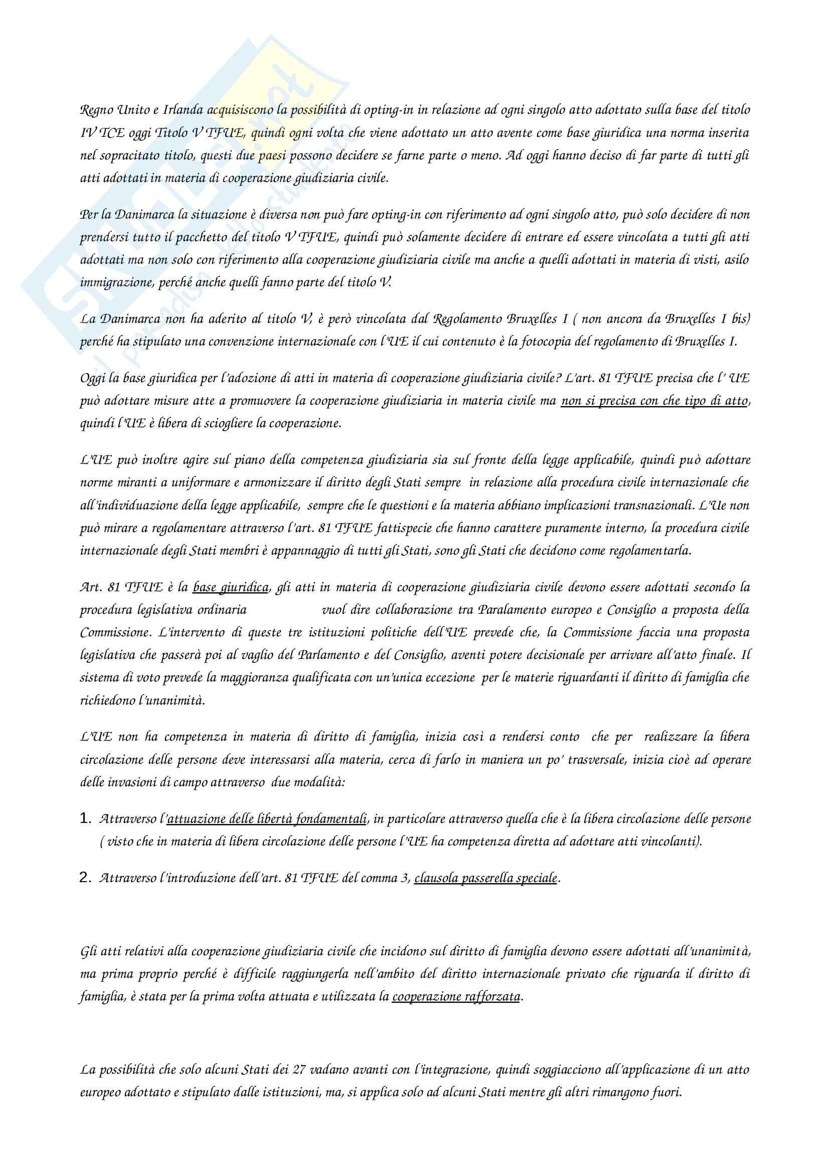 Diritto dell'Unione Europea II Pag. 2