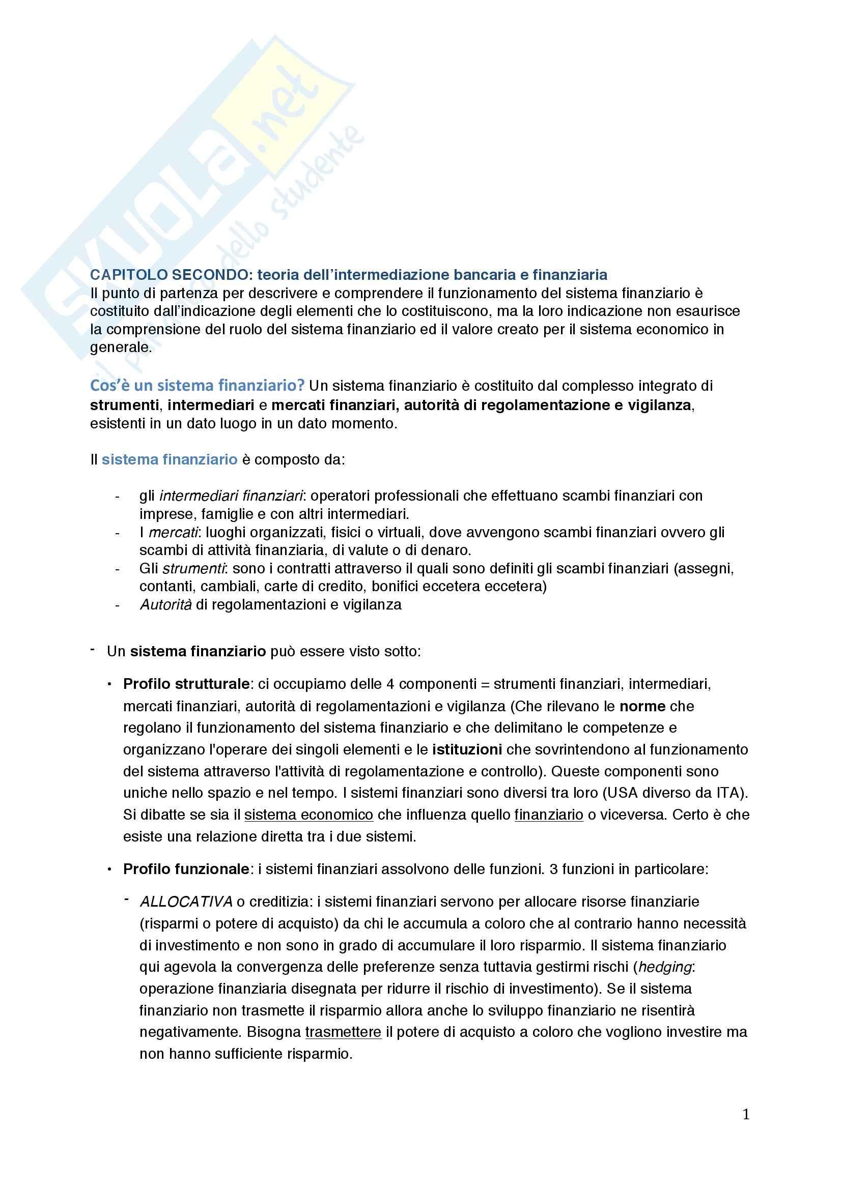 Riassunto esame Economia delle Aziende di Credito, prof. Poli, libro consigliato La Banca: Istituzione e Impresa, Biasin, Cosma, Oriani