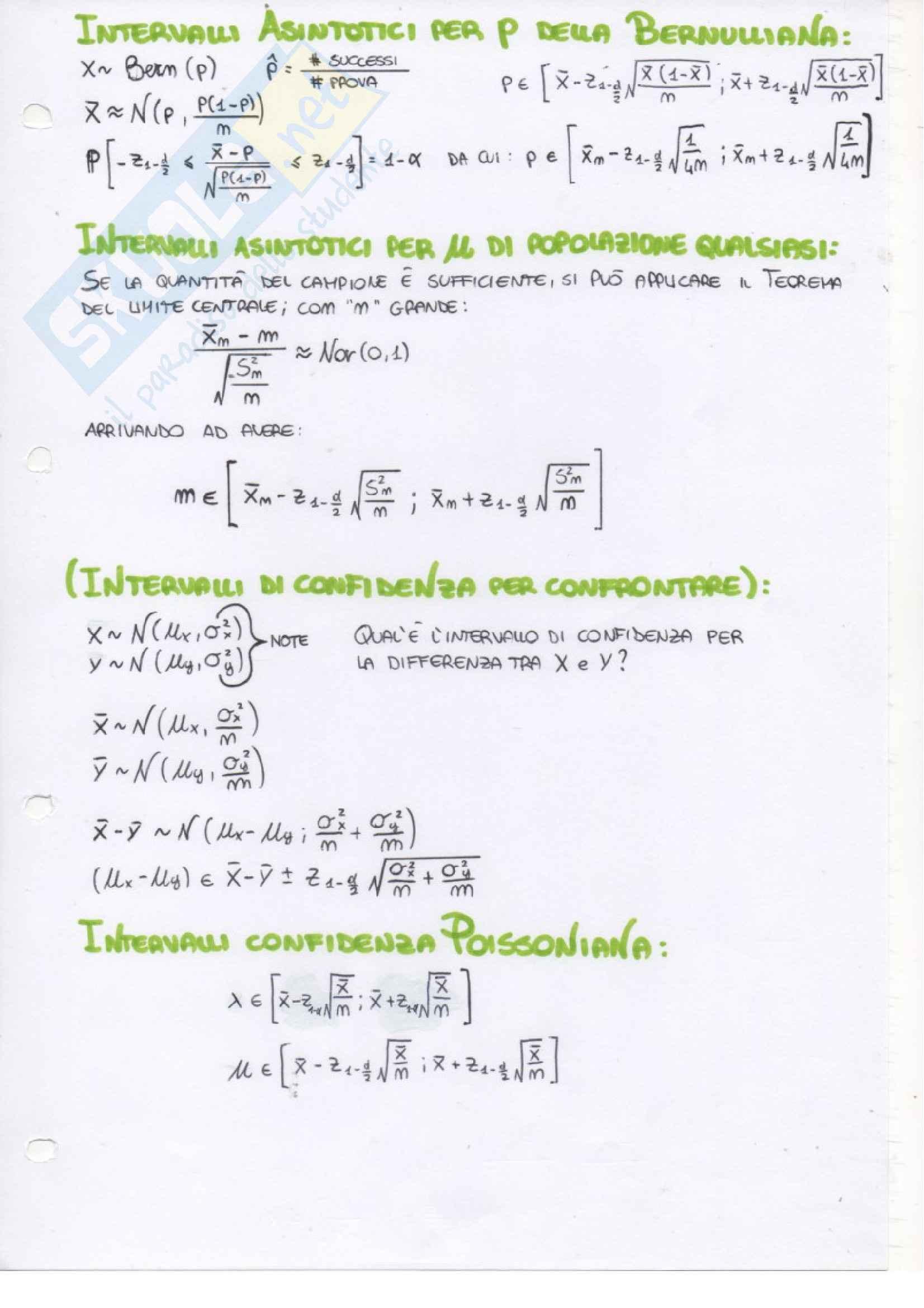 Probabilità e Statistica - Appunti Pag. 21