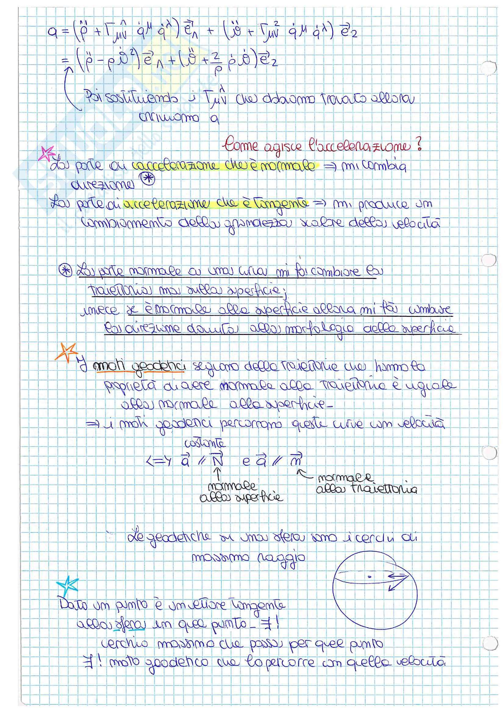 Meccanica razionale, lezioni ed esercitazioni Pag. 36