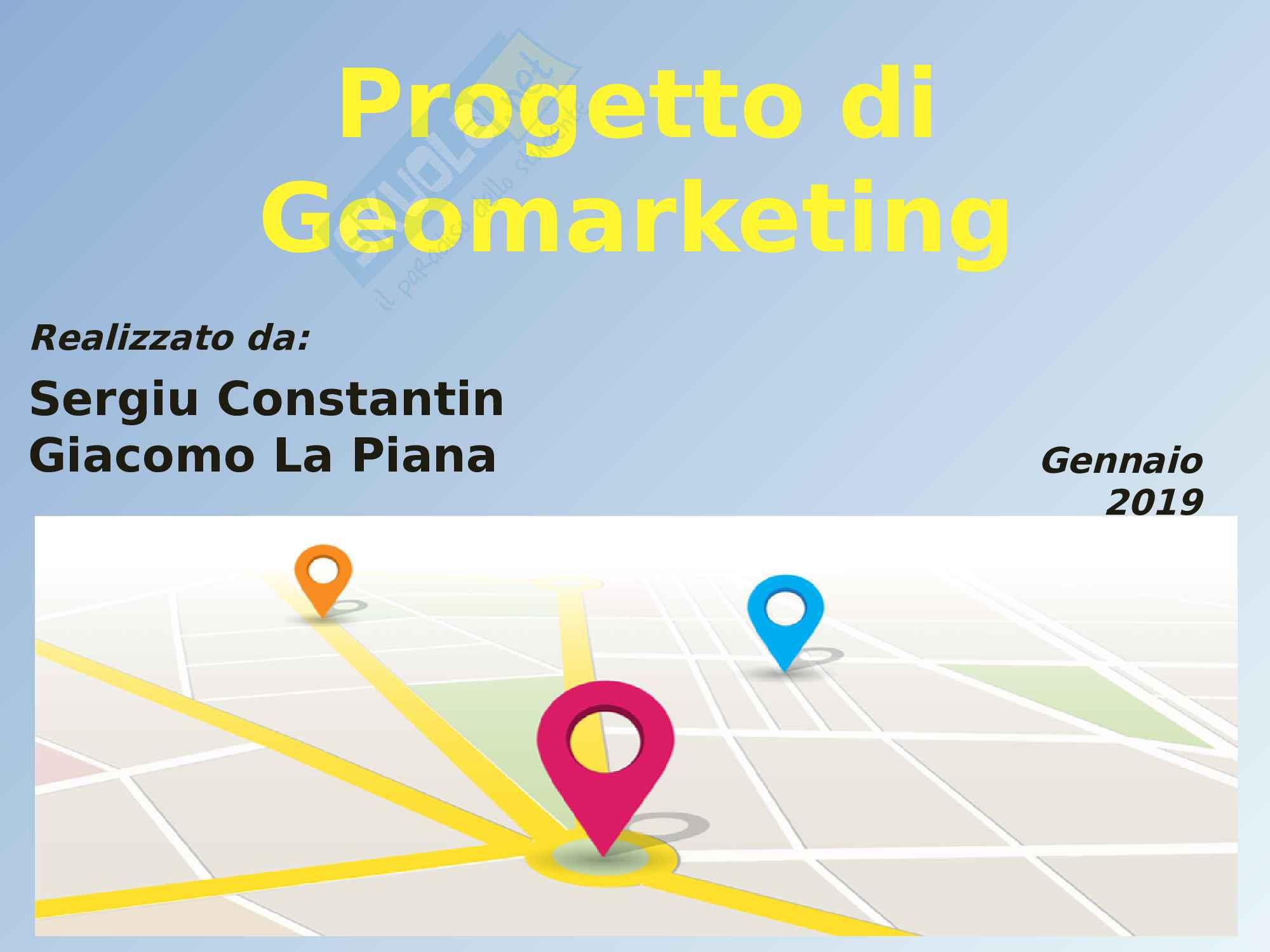 Progetto di Geomarketing