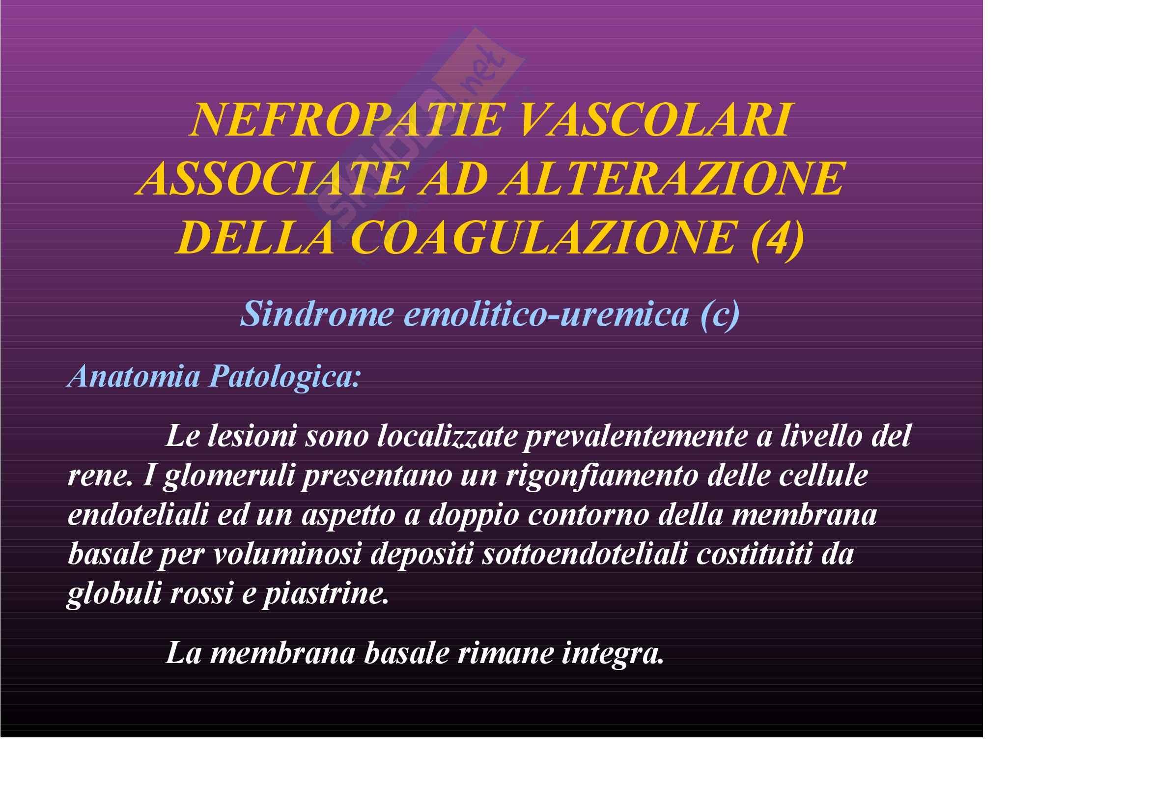 Nefrologia e urologia – Nefropatie vascolari Pag. 46