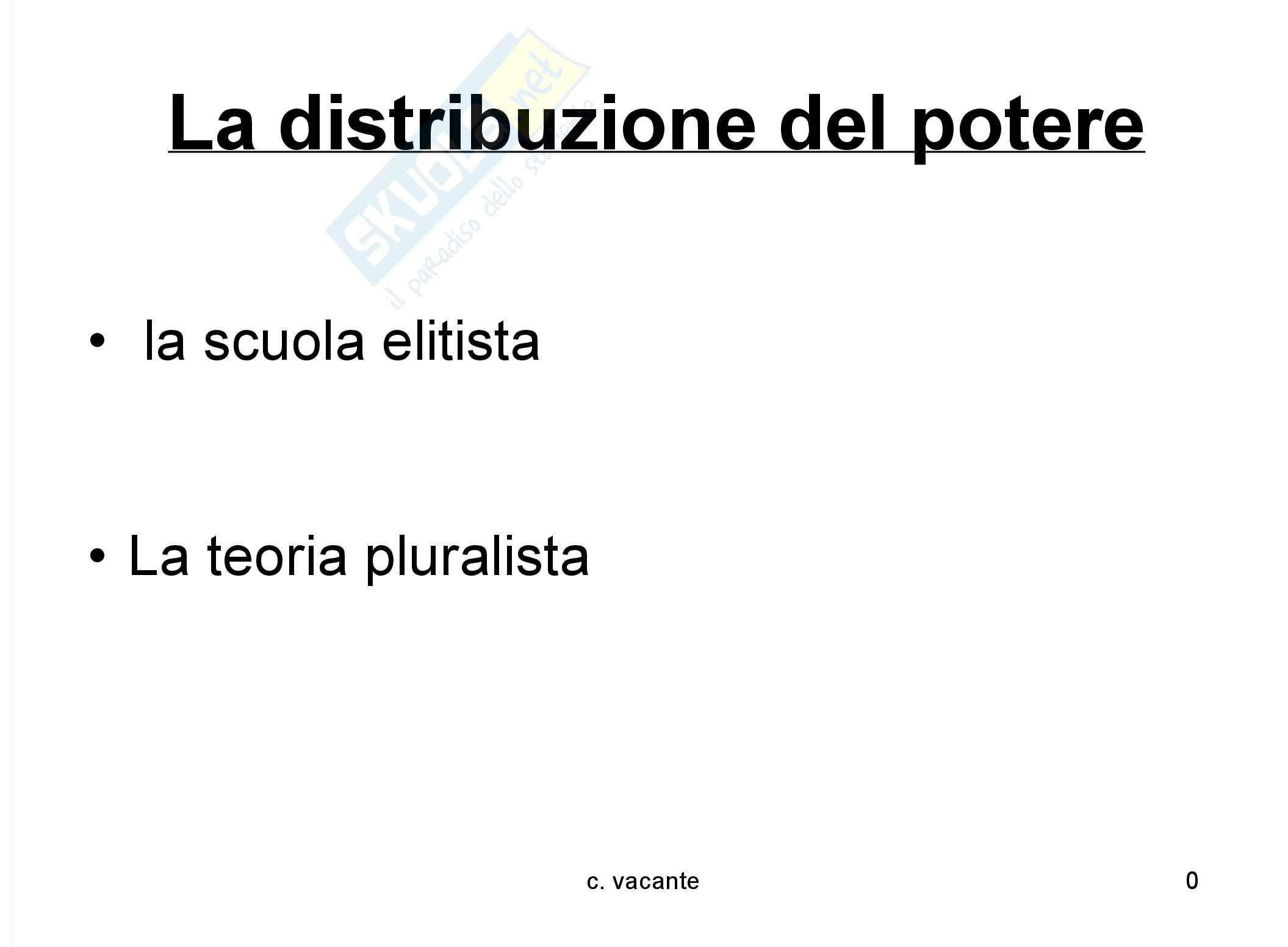Sociologia dei fenomeni politici - il potere - appunti Pag. 41