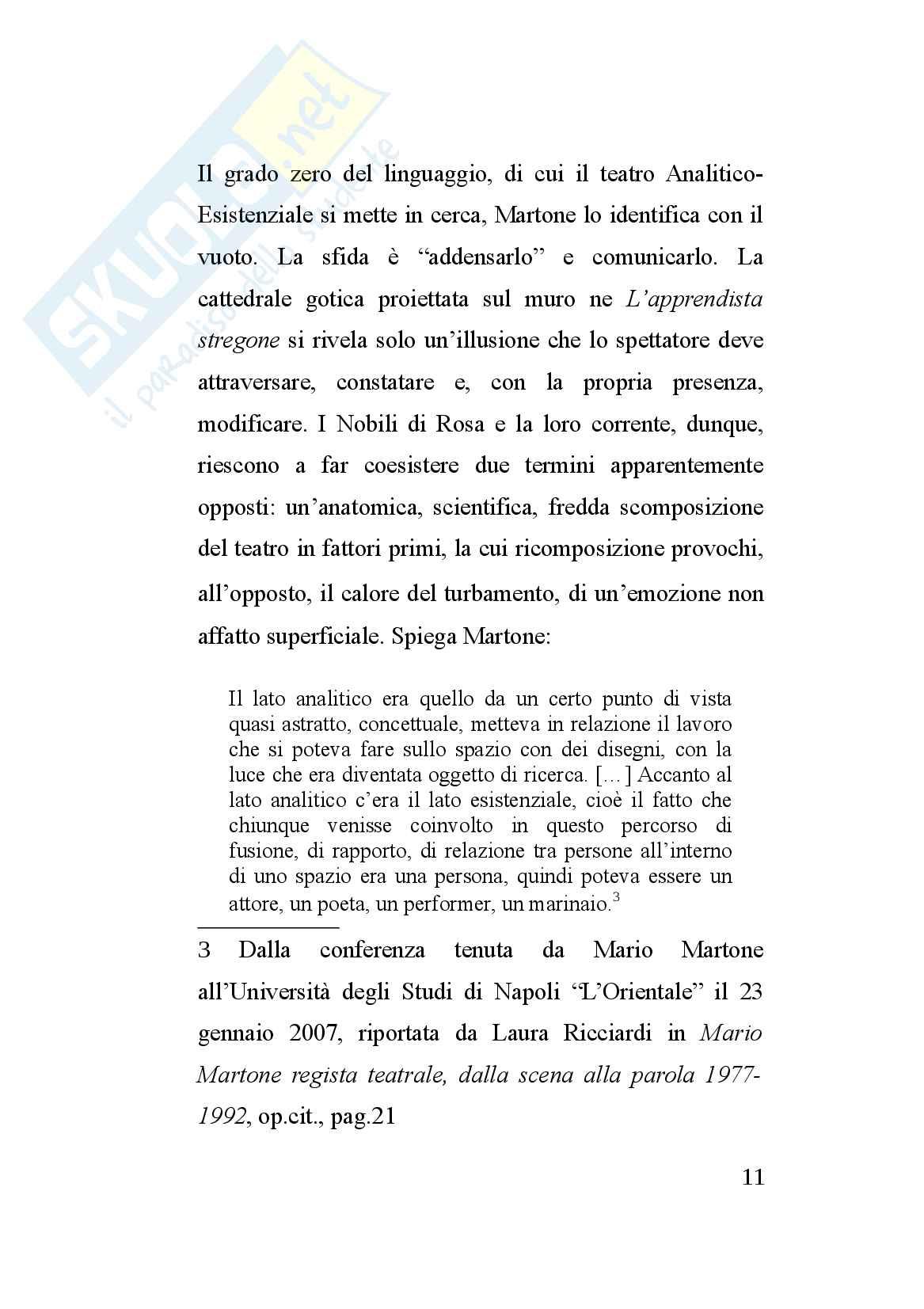 Tesi sulla storia del teatro contemporaneo: Mario Martone e la sua opera Carmen (2015) Pag. 11