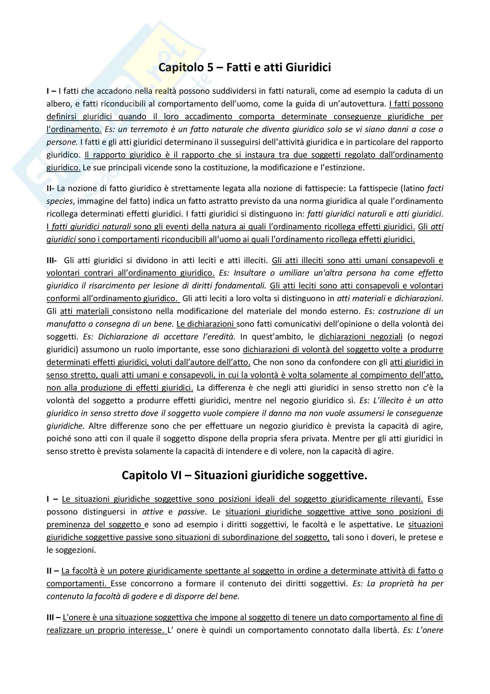Riassunto esame Diritto privato e della comunicazione, prof. Bianca, libro consigliato Istituzioni di diritto privato, Bianca
