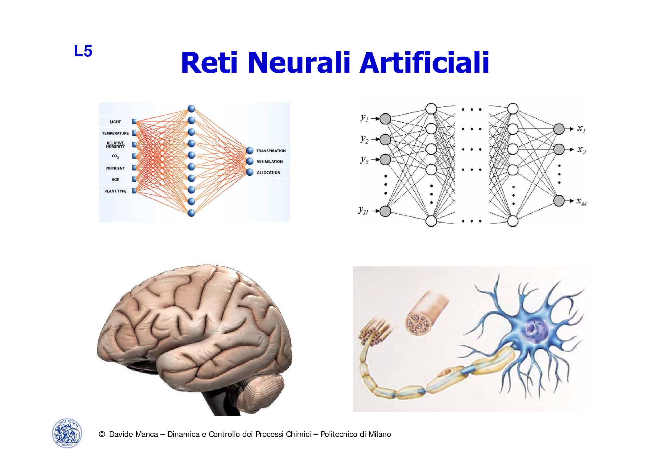Reti Neurali Artificiali - ANN