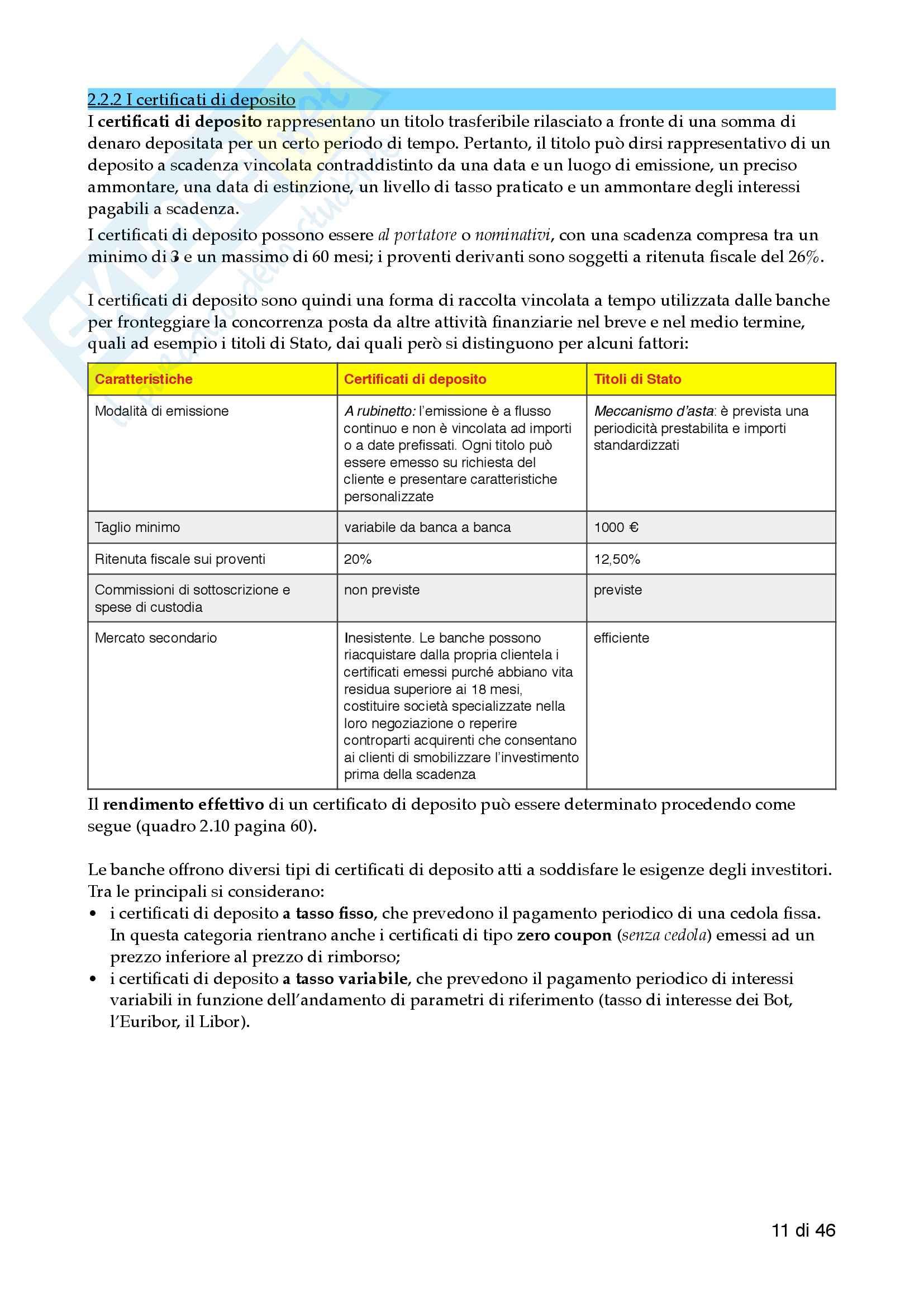Economia delle aziende di credito - 1 Pariziale pdf Pag. 11