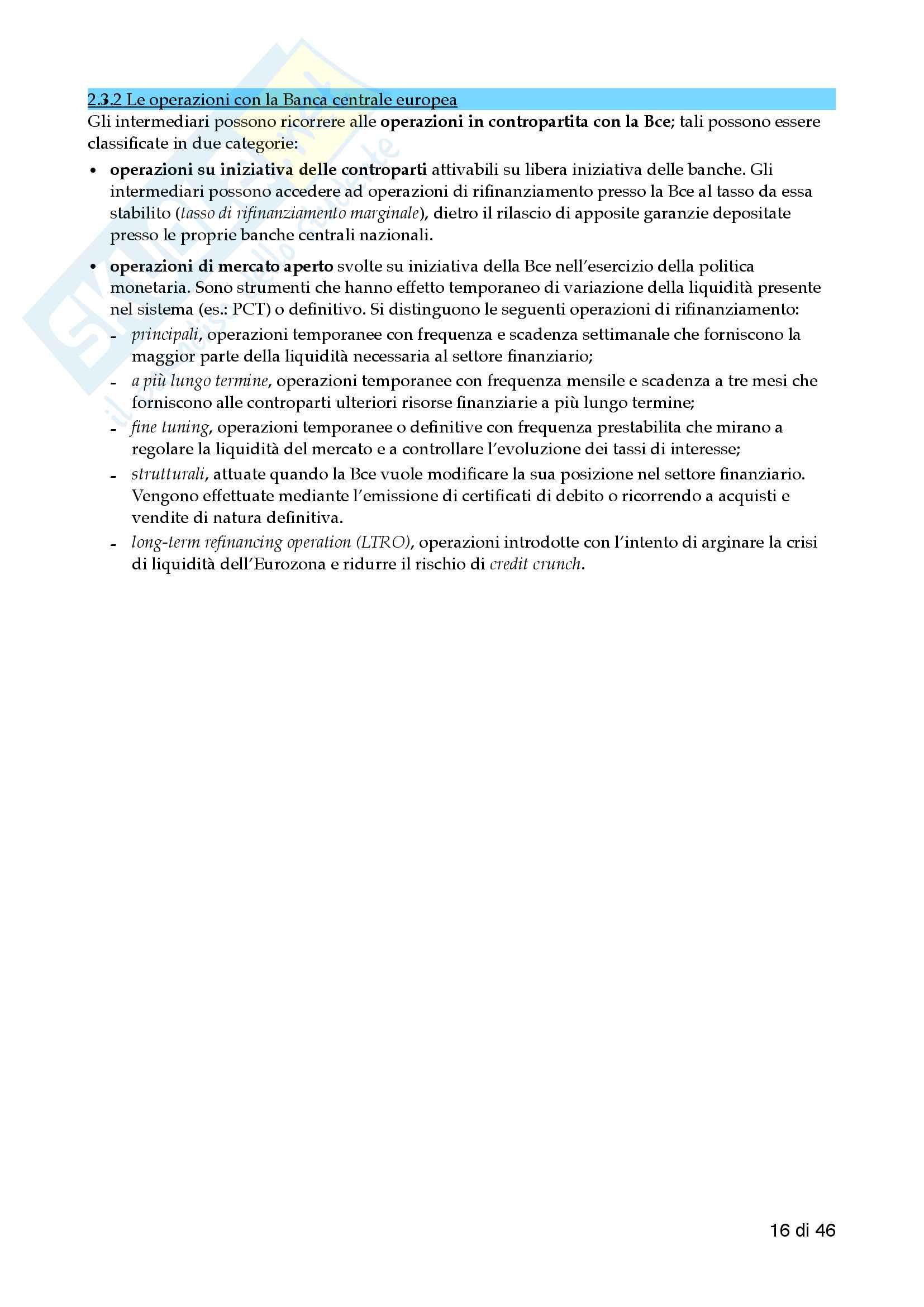 Economia delle aziende di credito - 1 Pariziale pdf Pag. 16