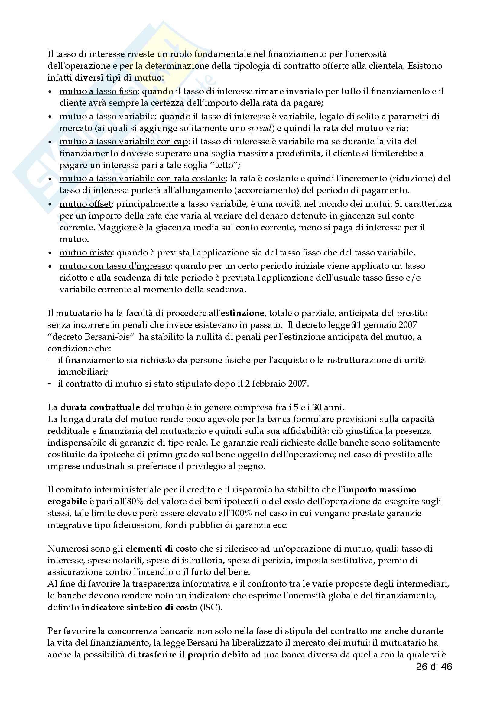 Economia delle aziende di credito - 1 Pariziale pdf Pag. 26