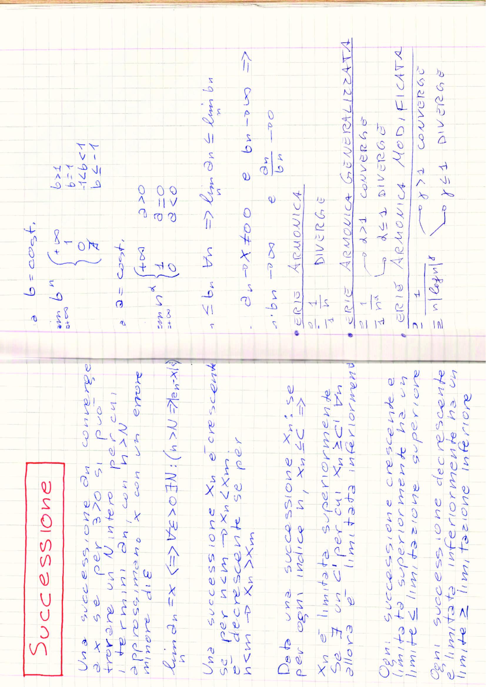Formule, esercizi e riassunti Analisi 1 Pag. 31