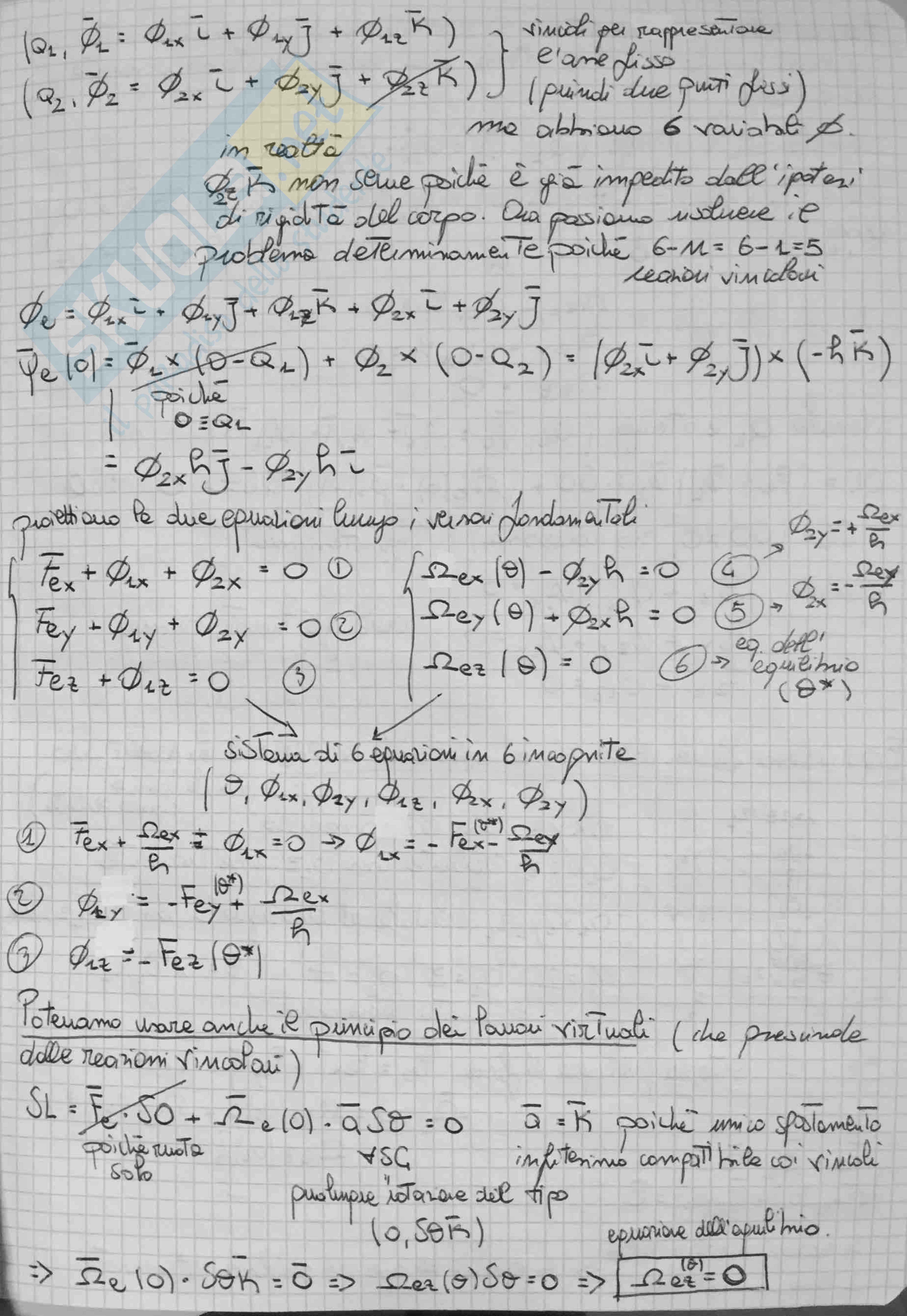 Meccanica Razionale: Appunti Pag. 76