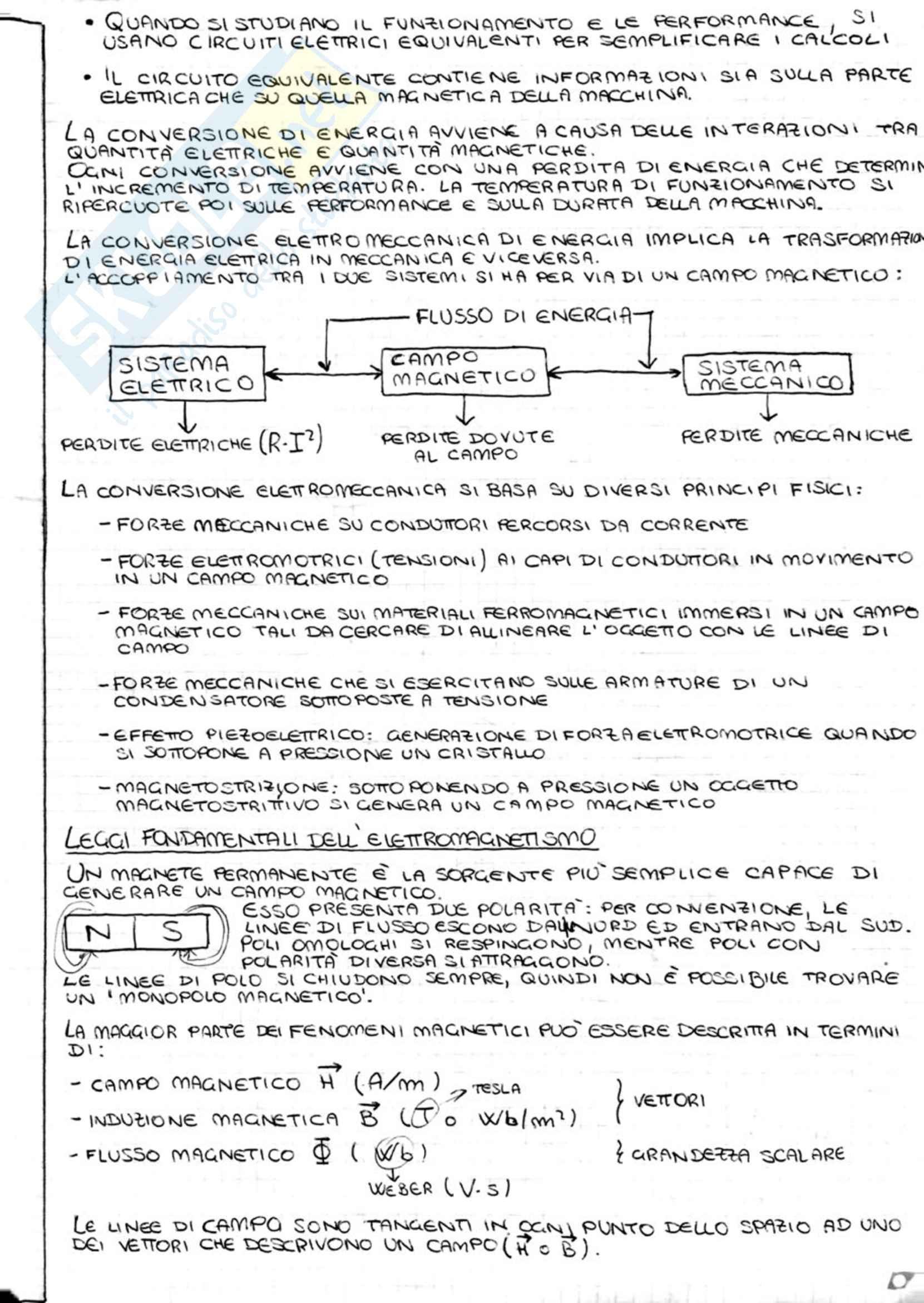 Appunti di macchine elettriche Pag. 2