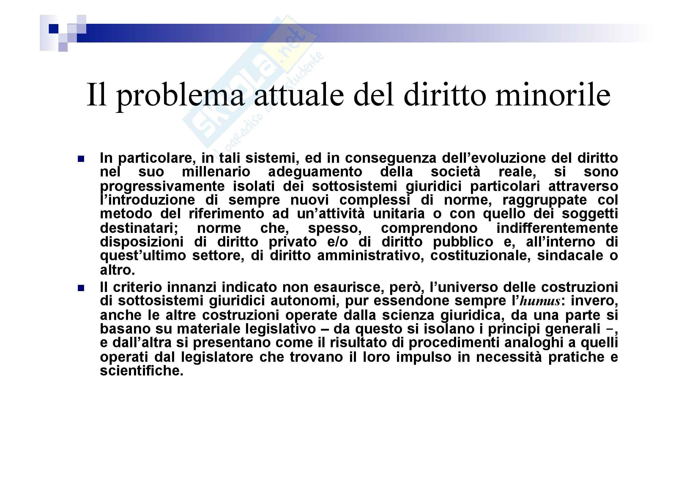 Processo penale minorile - elementi del processo penale minorile Pag. 21