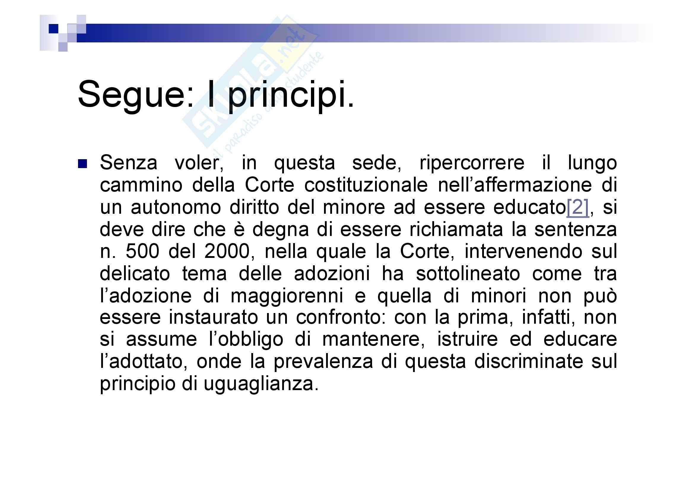 Processo penale minorile - elementi del processo penale minorile Pag. 86