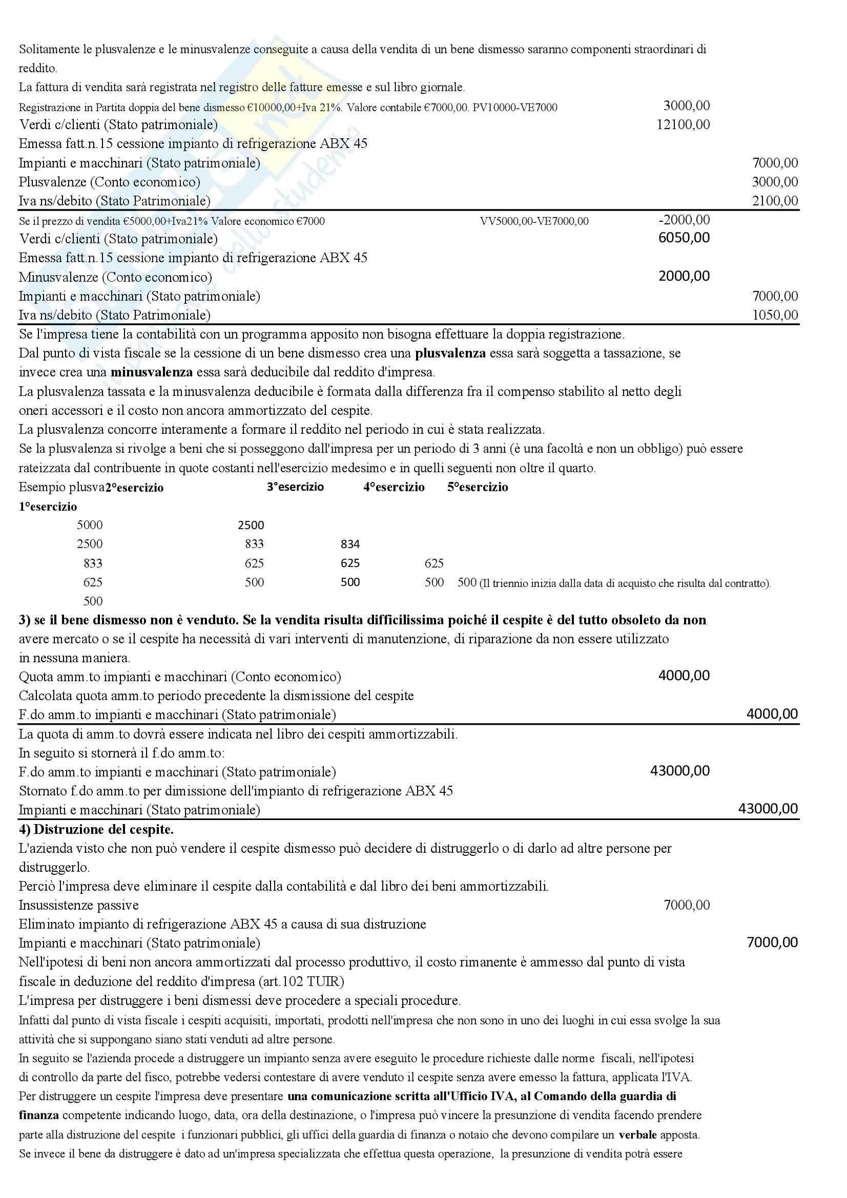 Ragioneria generale e applicata II - Appunti Pag. 16