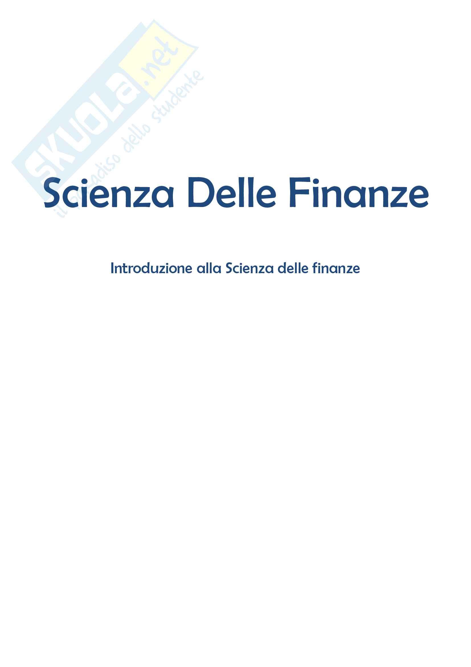 appunto A. Di Majo Scienze delle finanze