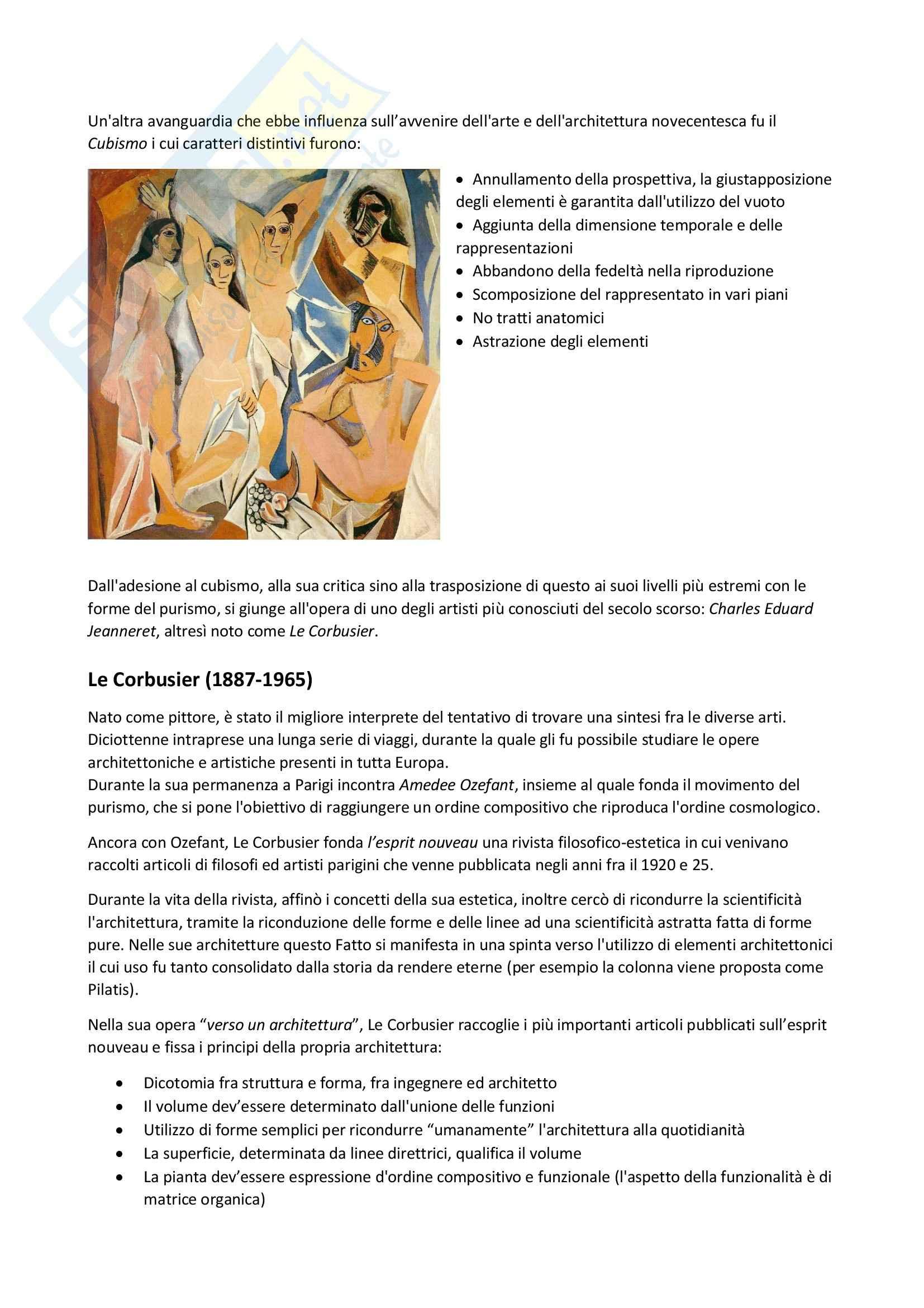 Unione delle arti: Appunti di Storia delle arti e del design Pag. 2