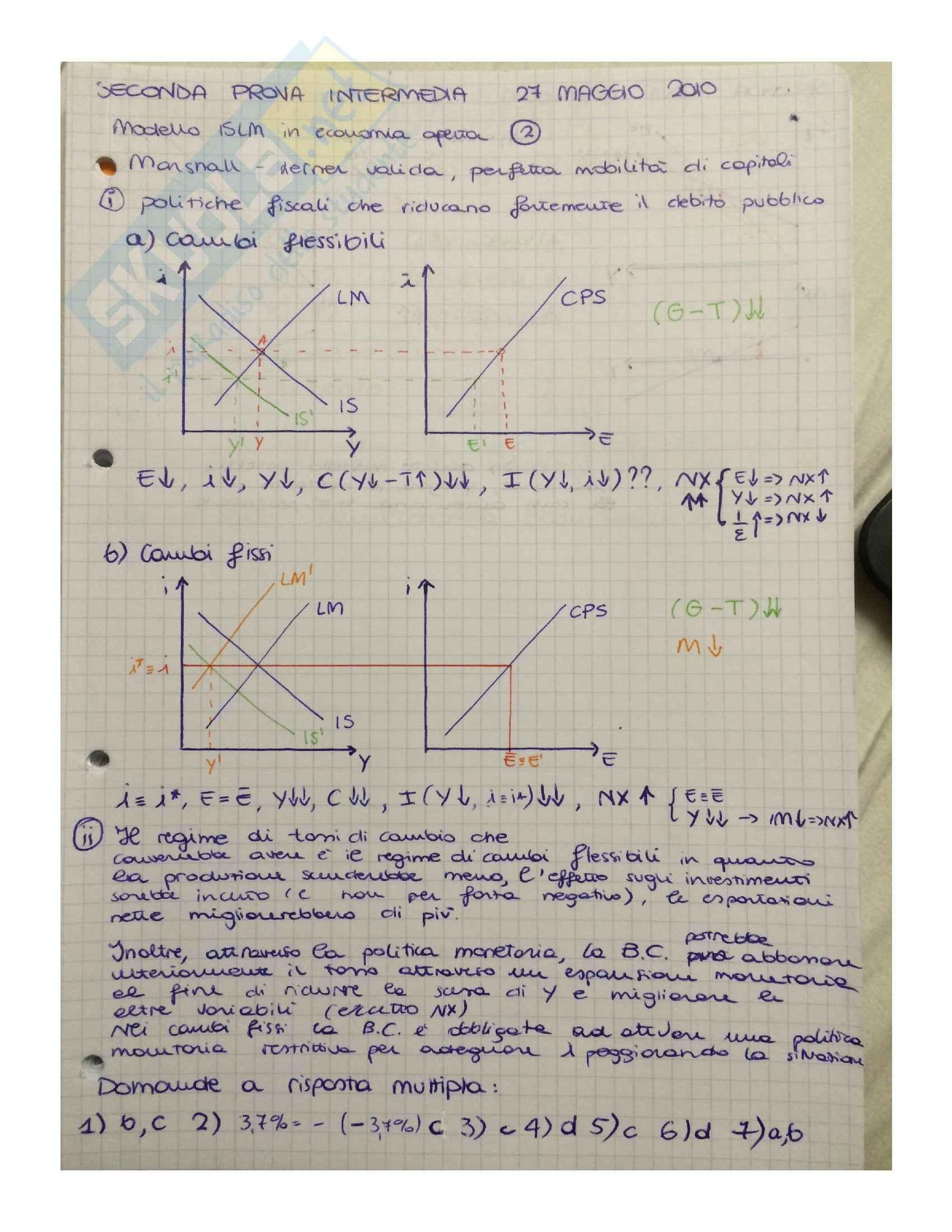Macroeconomia - soluzioni Pag. 26