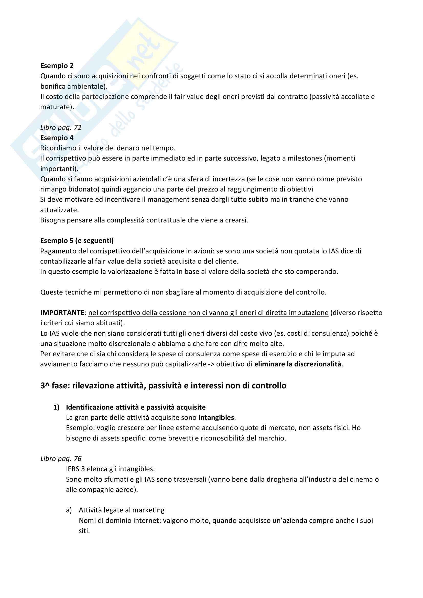 Bilancio consolidato (teoria) Pag. 11