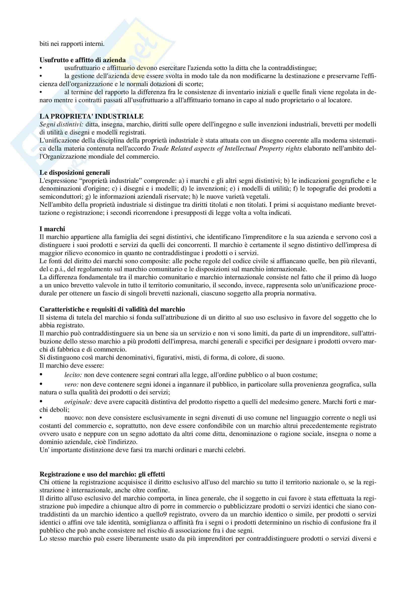 Diritto commerciale - Appunti Pag. 6