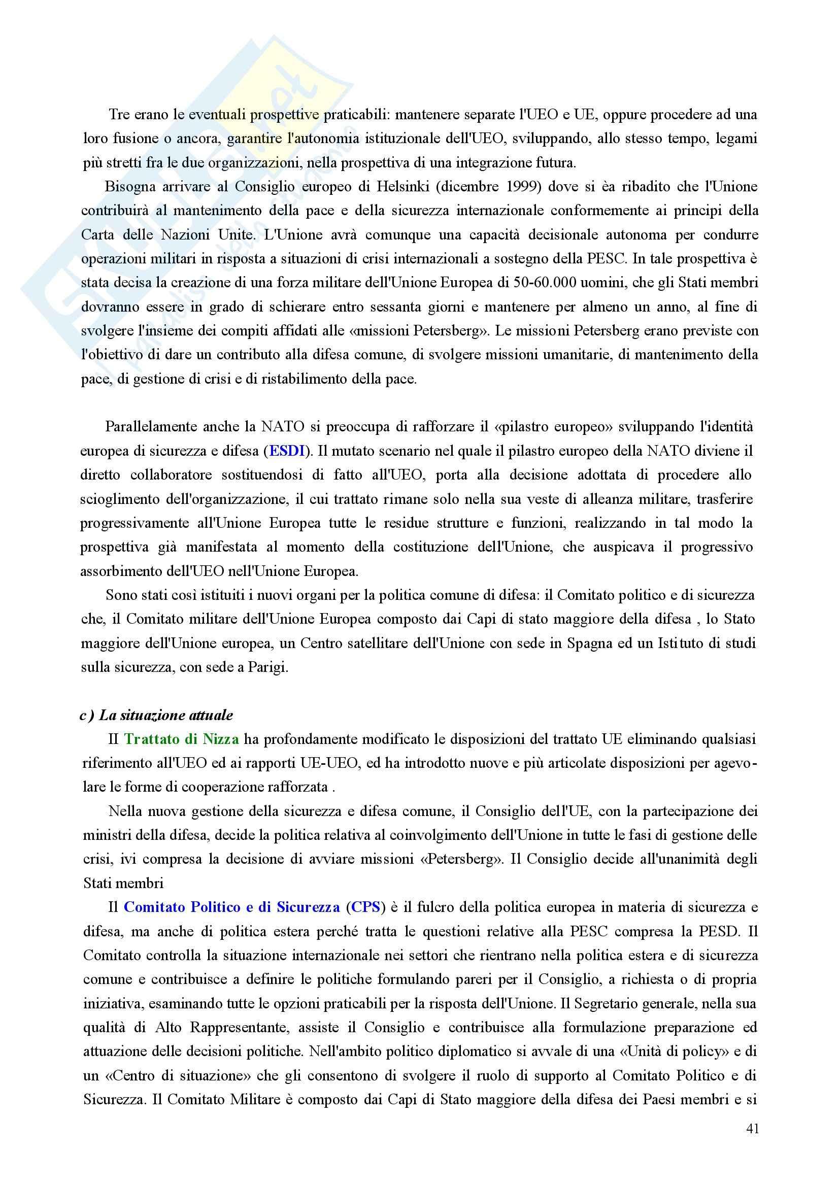 Riassunto esame Diritto, prof. Nicolosi, libro consigliato Istituzioni di diritto dell'Unione Europea: Verso una Costituzione europea, Zanghì Pag. 41